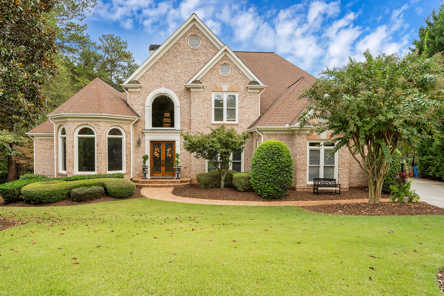 Single Family Home for Sale at Stunning Brick Home in Northshore of Windward 1810 Turnberry Lane Alpharetta, Georgia 30005 United States