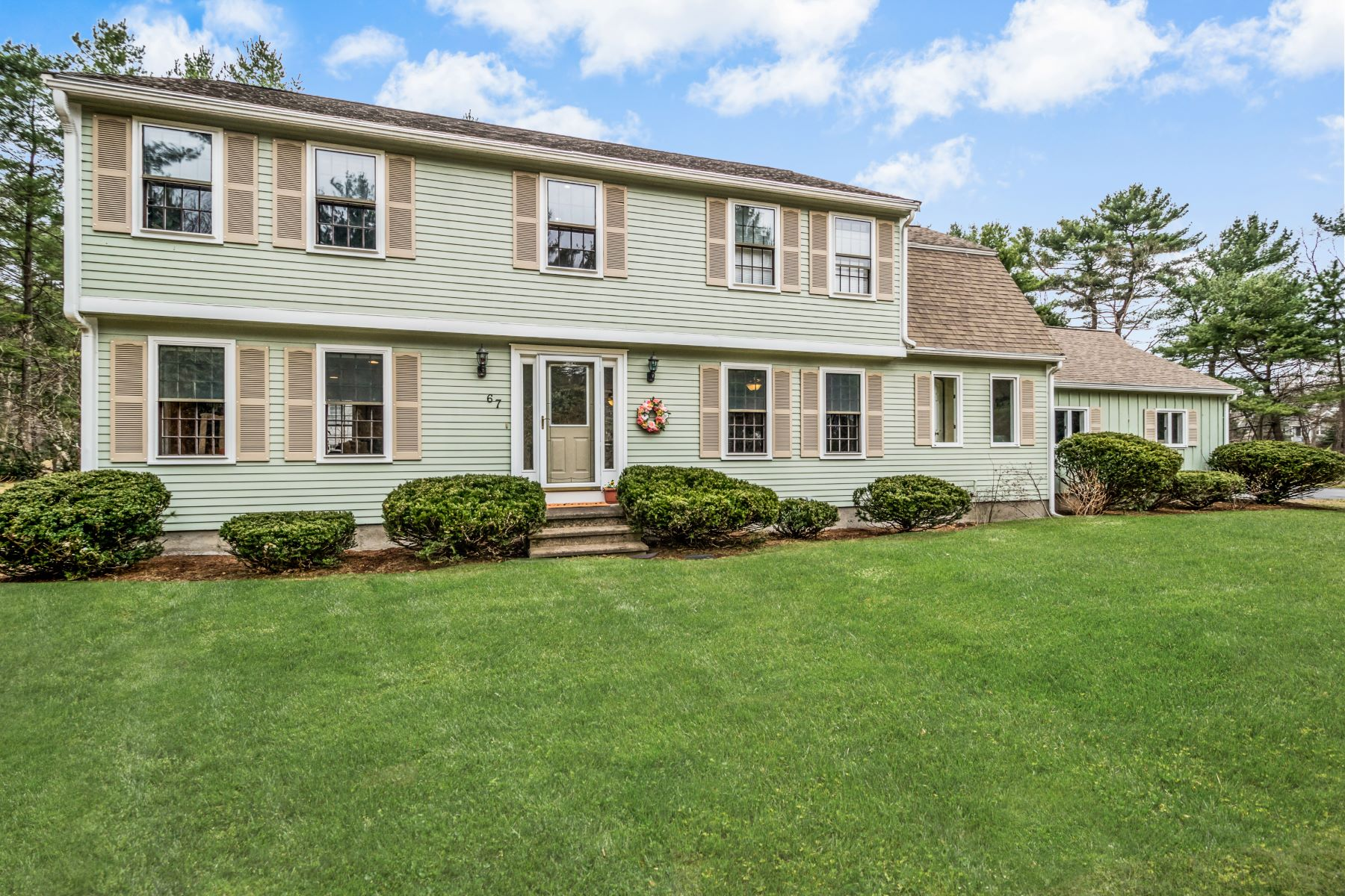 Single Family Home for Active at 67 Wildwood Rd Stow, Massachusetts 01775 United States