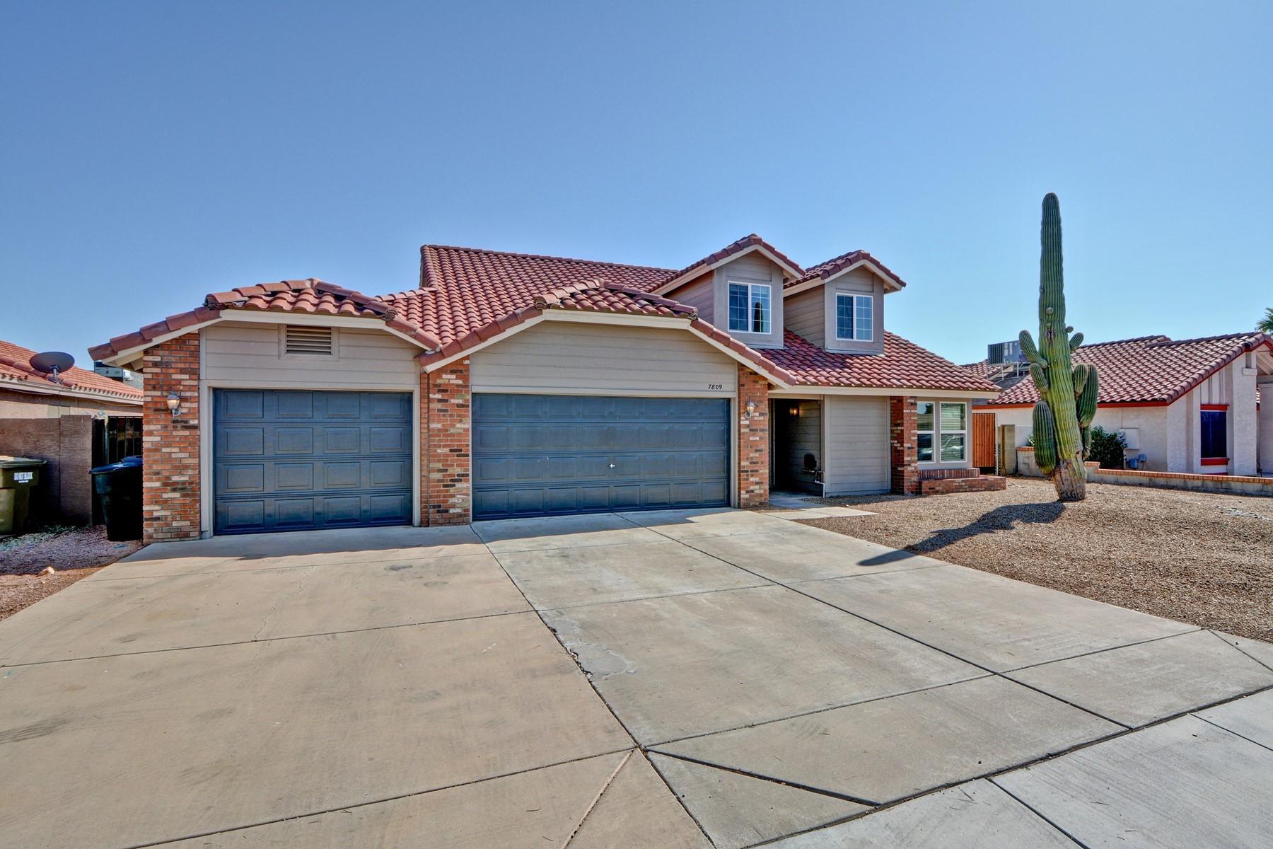 Single Family Homes por un Venta en Somerset 7809 W CHOLLA ST Peoria, Arizona 85345 Estados Unidos