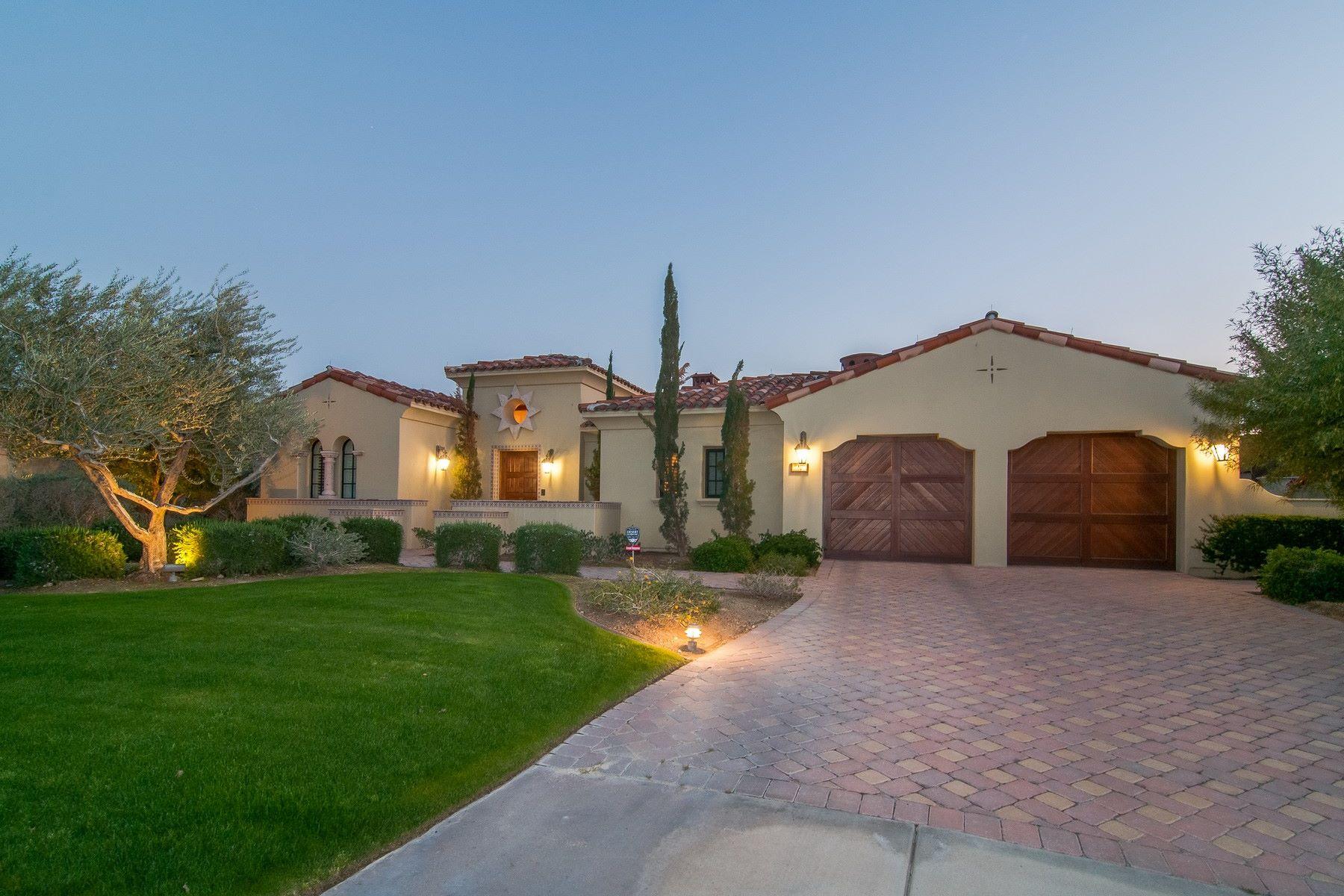 Einfamilienhaus für Verkauf beim 27 Cassis Circle Rancho Mirage, Kalifornien, 92270 Vereinigte Staaten