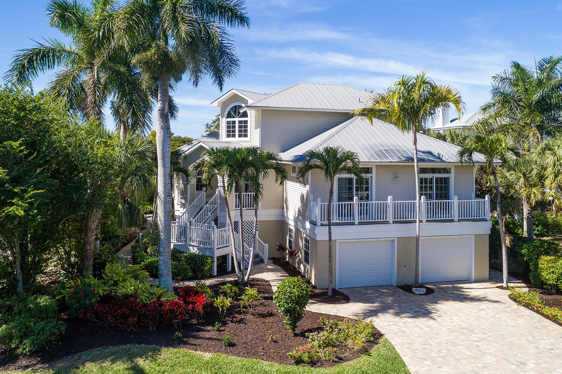 Single Family Homes por un Venta en EASTWOOD LANDINGS AMENDED, EASTWOODLANDINGS AMENDED 911 Almas Ct, Sanibel, Florida 33957 Estados Unidos