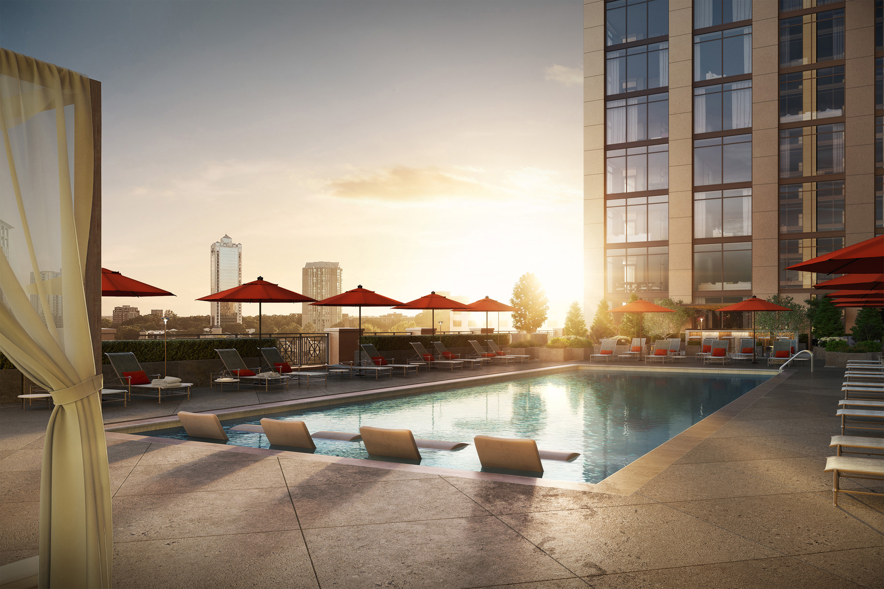 Condominium for Sale at The Sutton Buckhead 2965 Peachtree Road NW Unit 1107, Atlanta, Georgia, 30305 United States