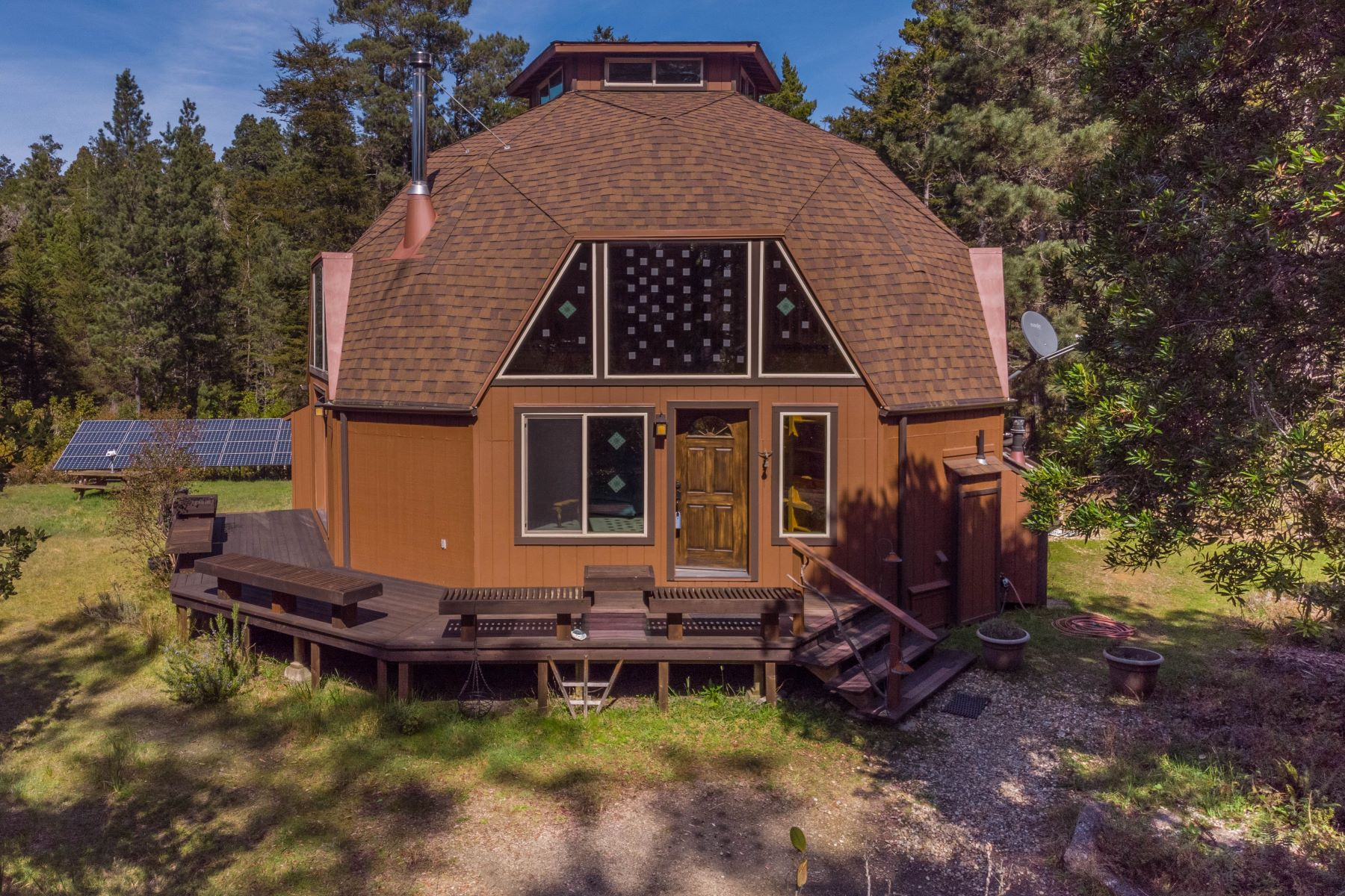 Single Family Homes for Sale at Back to Eden 31700 N. Mitchell Creek Road Fort Bragg, California 95437 United States