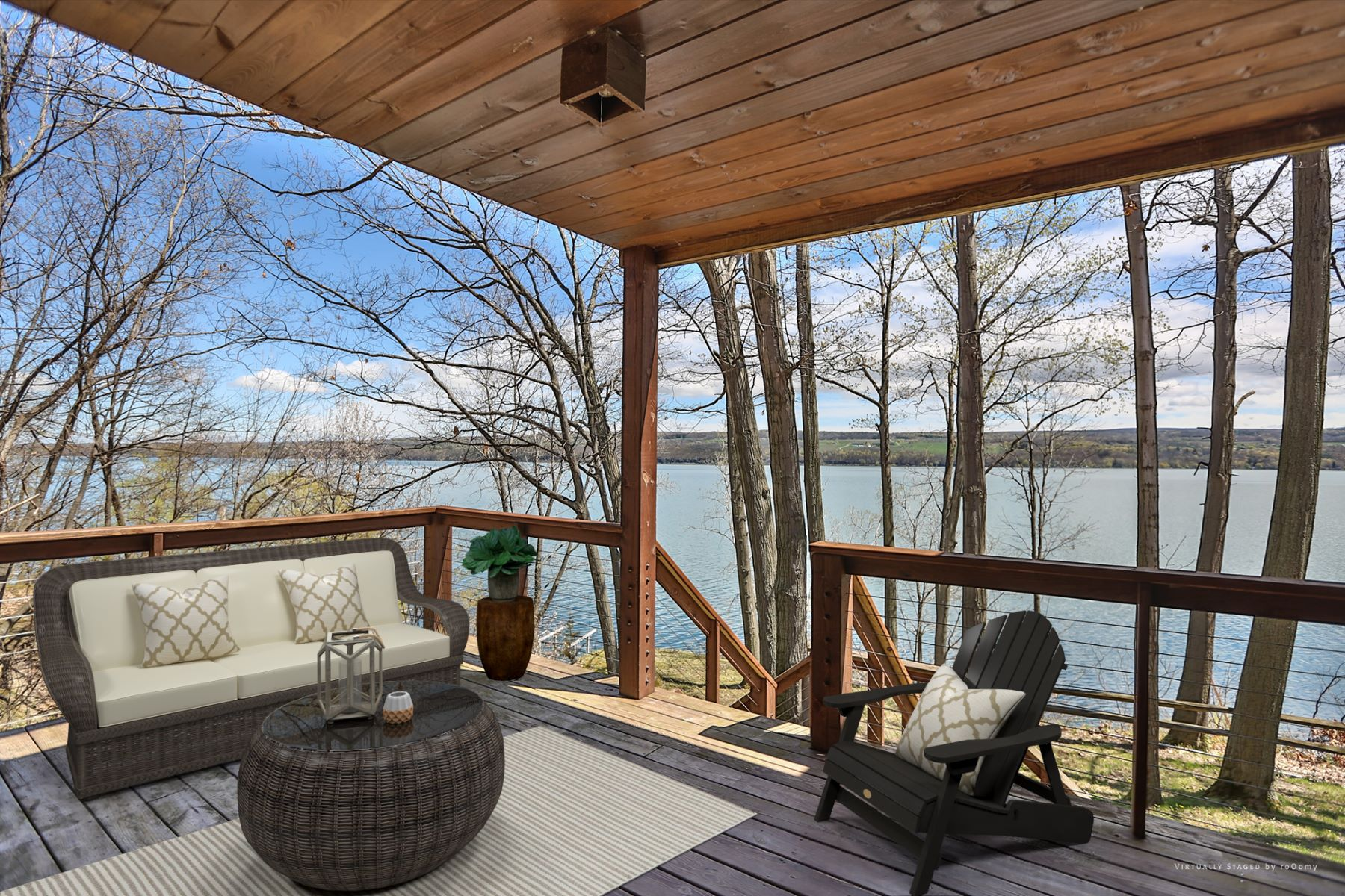 Additional photo for property listing at Spectacular Timber Frame on Seneca  Lake 4572  Lakeview Rd Starkey, Nova York 14837 Estados Unidos