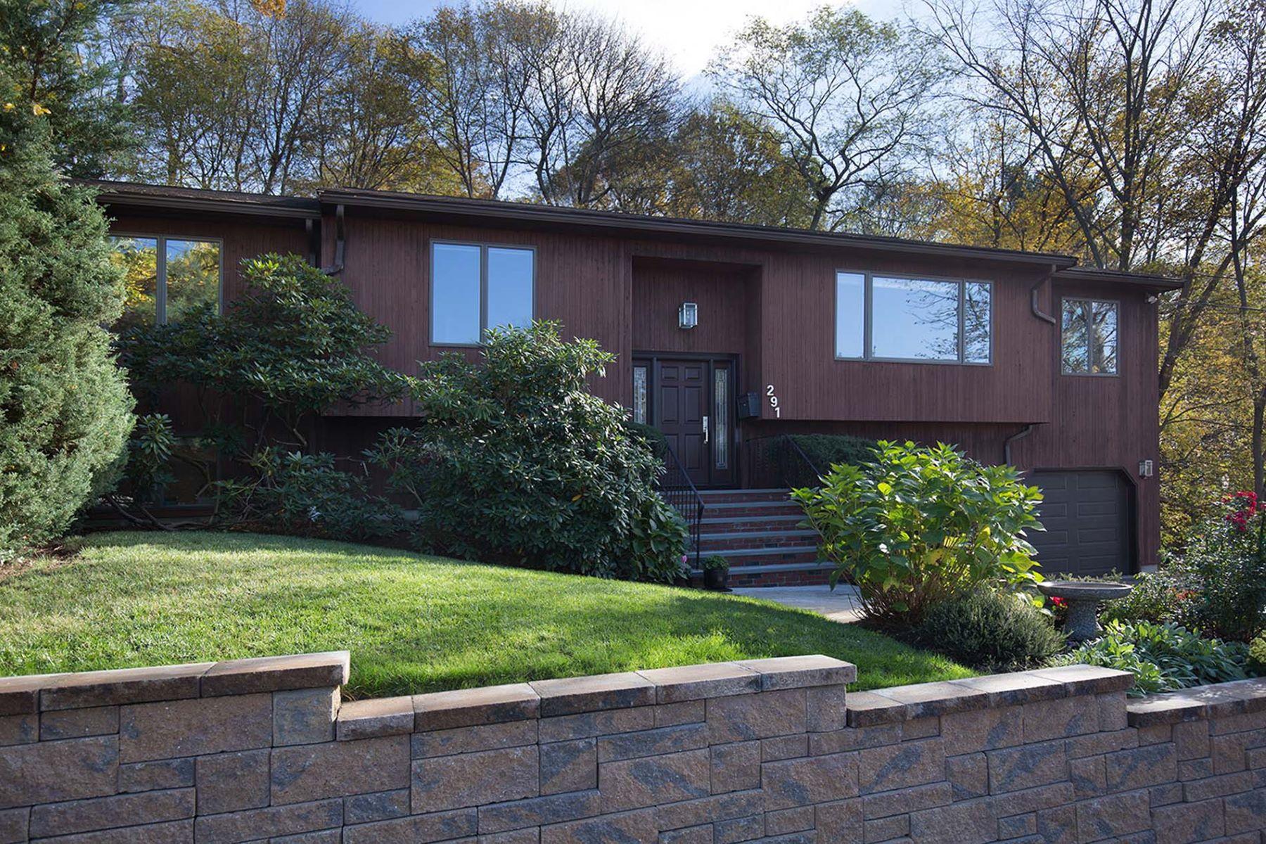 Частный односемейный дом для того Продажа на 291 Country Club Road, Newton 291 Country Club Rd Newton, Массачусетс 02459 Соединенные Штаты