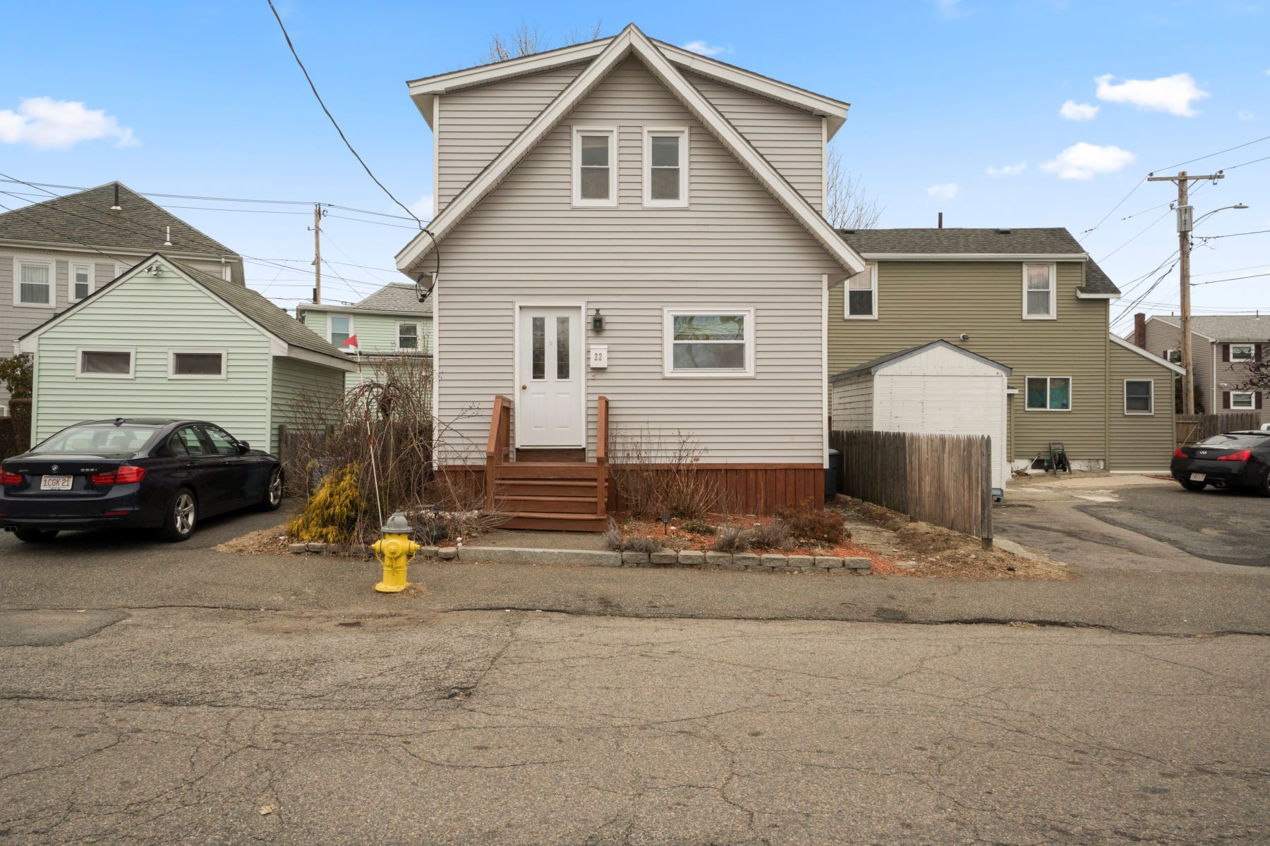 Single Family Home for Active at 22 Bird Street 22 Bird St Quincy, Massachusetts 02169 United States