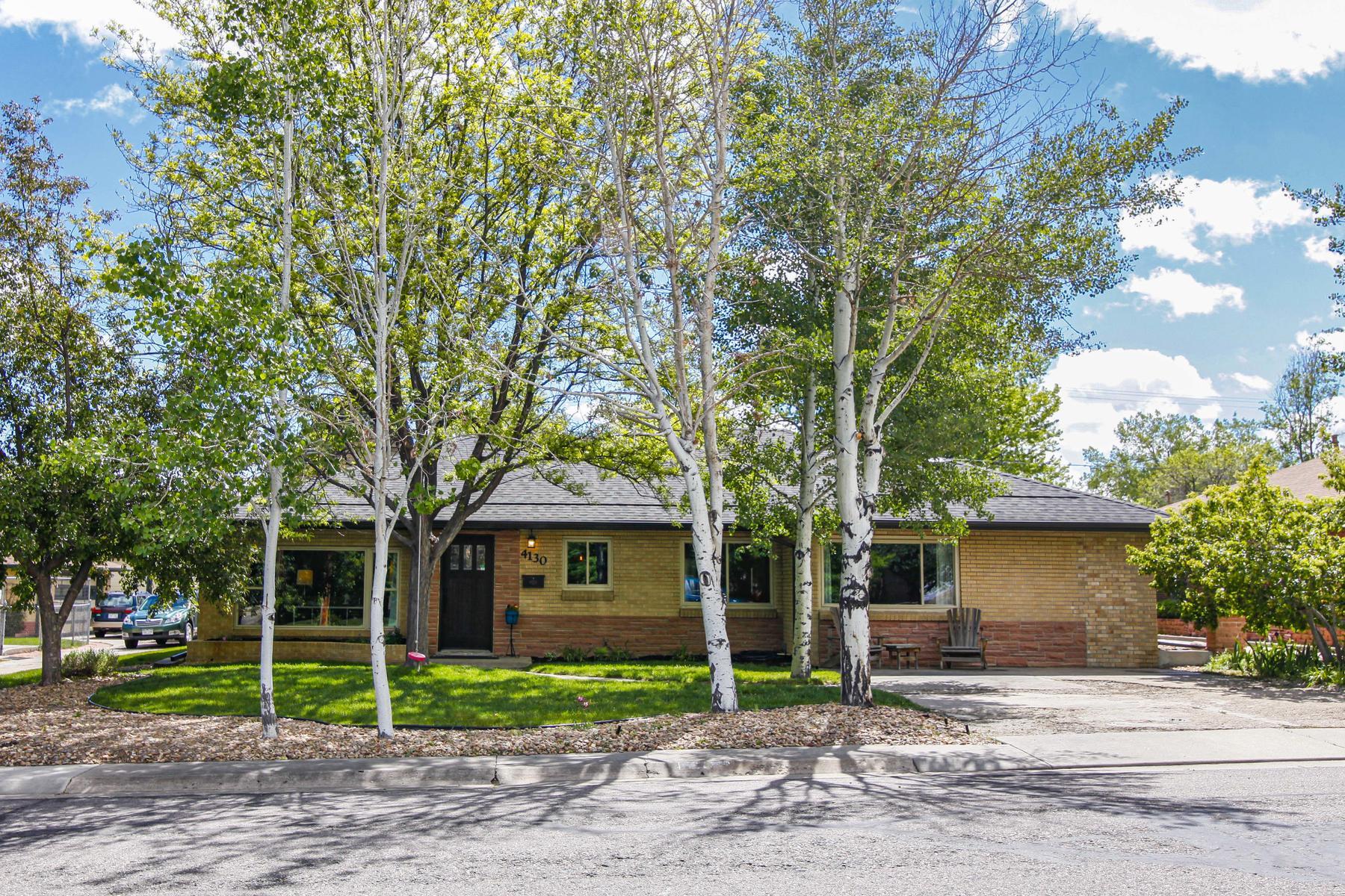 Single Family Homes για την Πώληση στο Mid Century Tastefully Updated Ranch Style Home in Central Location 4130 Balsam Street, Wheat Ridge, Κολοραντο 80033 Ηνωμένες Πολιτείες