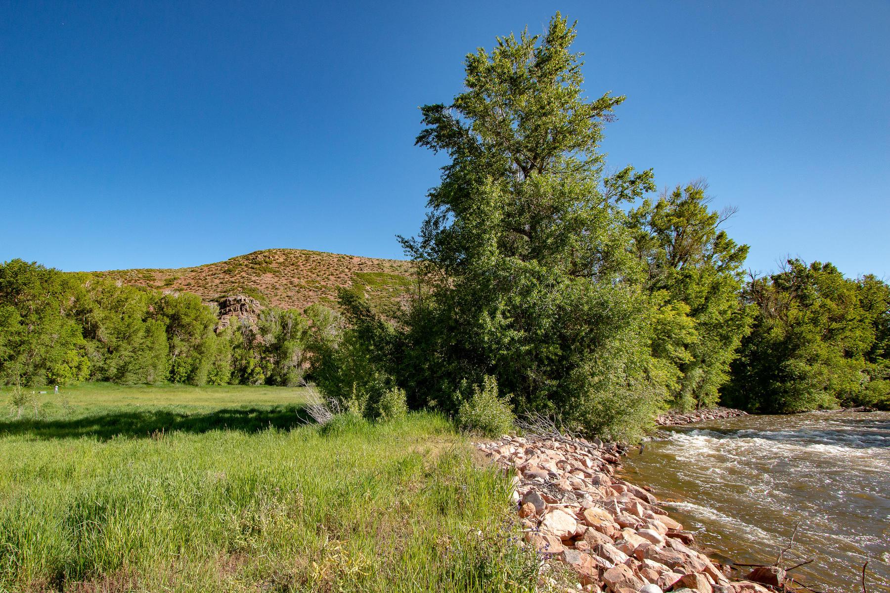 Farm / Ranch / Plantation for Sale at Flat 5.2 Acre Riverfront Horse Property 1252 E Elkhorn Lane Oakley, Utah 84055 United States