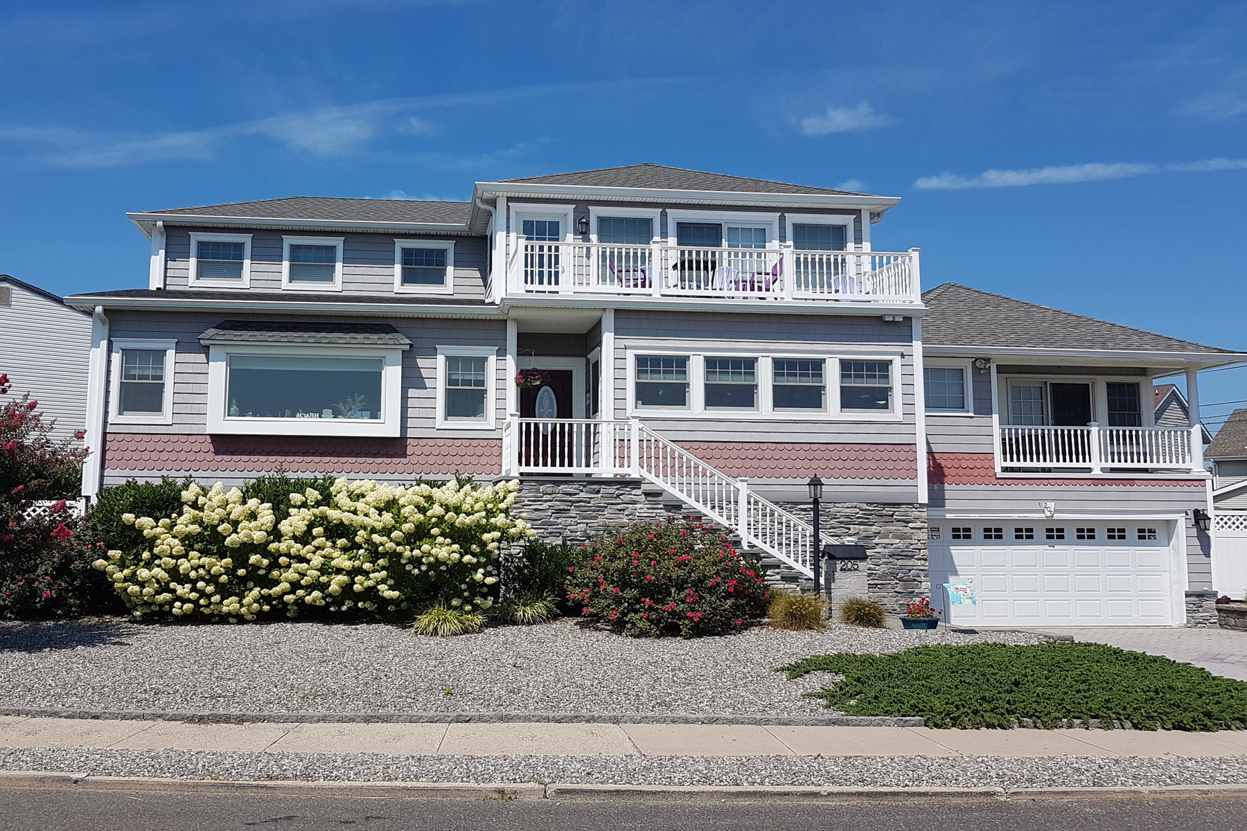 Single Family Homes for Sale at Outstanding Views Of Silver Lake 205 Trenton Avenue, Point Pleasant Beach, New Jersey 08742 United States