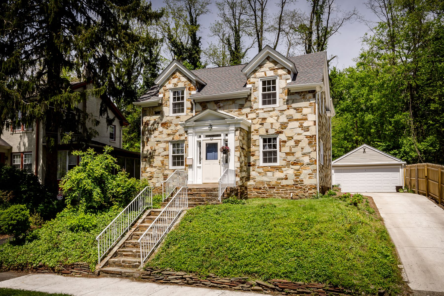 Single Family Home for Sale at Glen Afton Charmer Backs to the D & R Canal 98 School Lane, Trenton, New Jersey 08618 United States