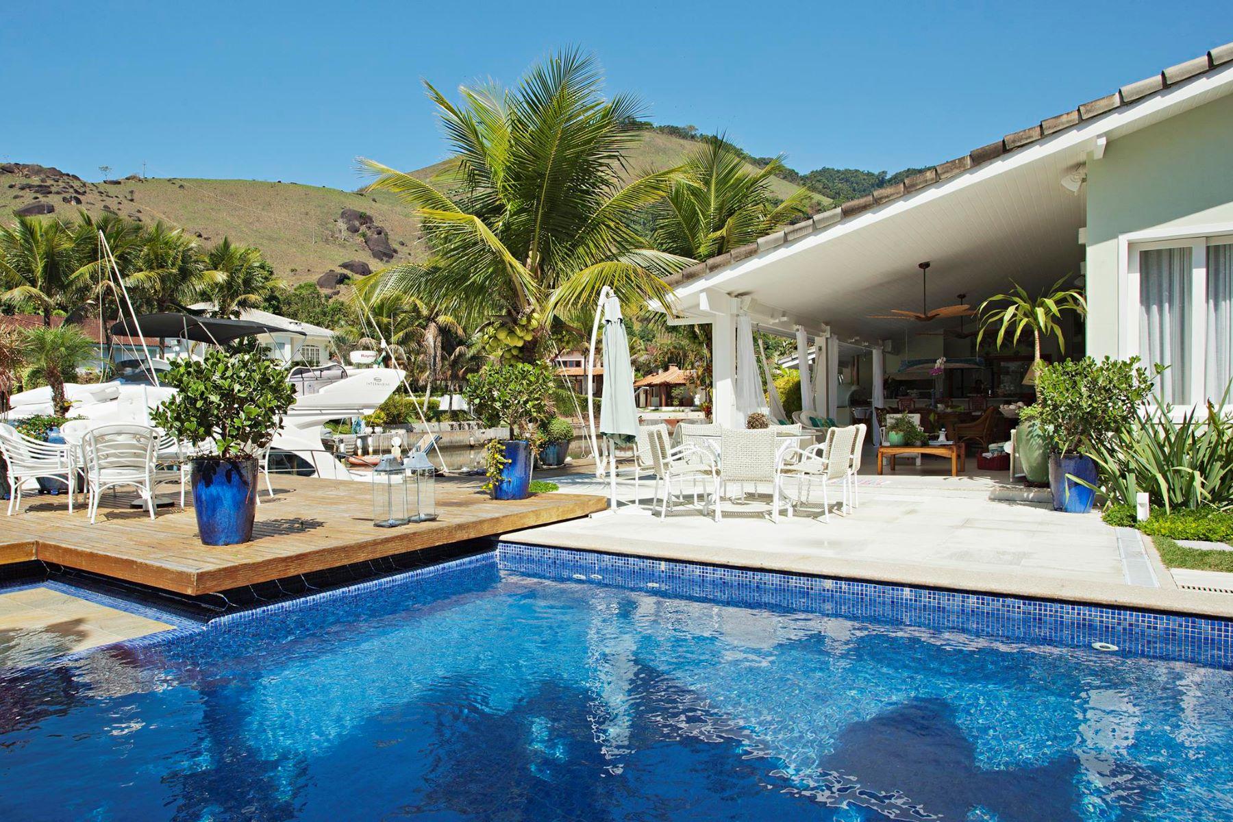 Einfamilienhaus für Verkauf beim Pleasant House on the Beach Condomínio Porto Do Frade Angra Dos Reis, Rio De Janeiro, 23946-015 Brasilien