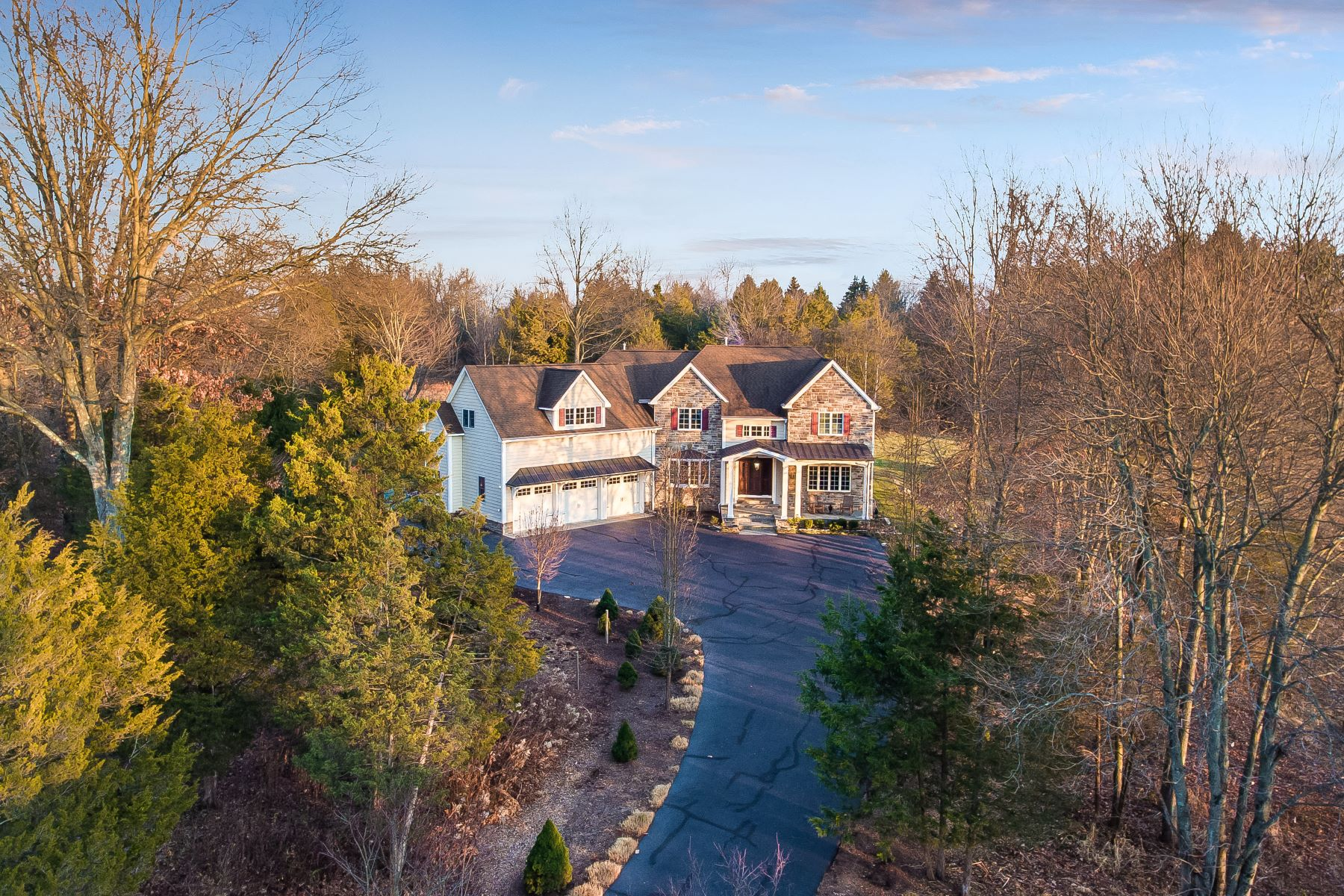 Single Family Home for Sale at Private and Spacious Colonial 451 Somerville Road, Basking Ridge, New Jersey 07920 United States