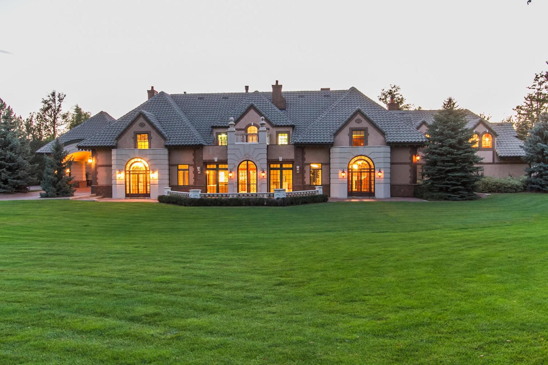 Single Family Home for Active at Extraordinary Estate on Pristine Acreage in Polo Club 530 S. University Boulevard Denver, Colorado 80209 United States
