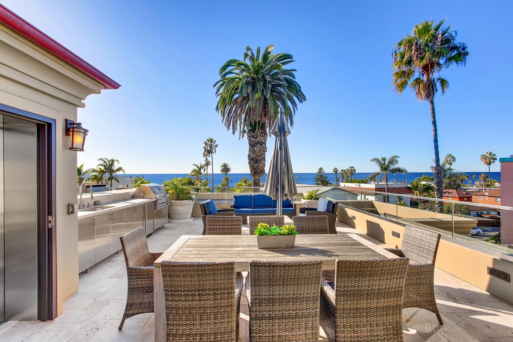 townhouses 为 销售 在 Elysian 6639 La Jolla Blvd 拉荷亚, 加利福尼亚州 92037 美国