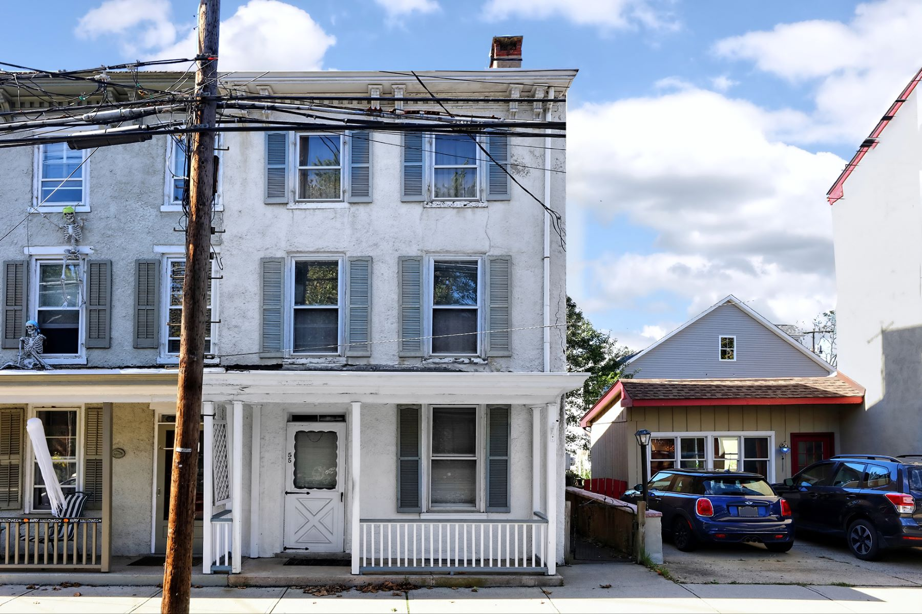townhouses for Sale at Good Bones, Great Potential 55 South Main Street, Lambertville, New Jersey 08530 United States