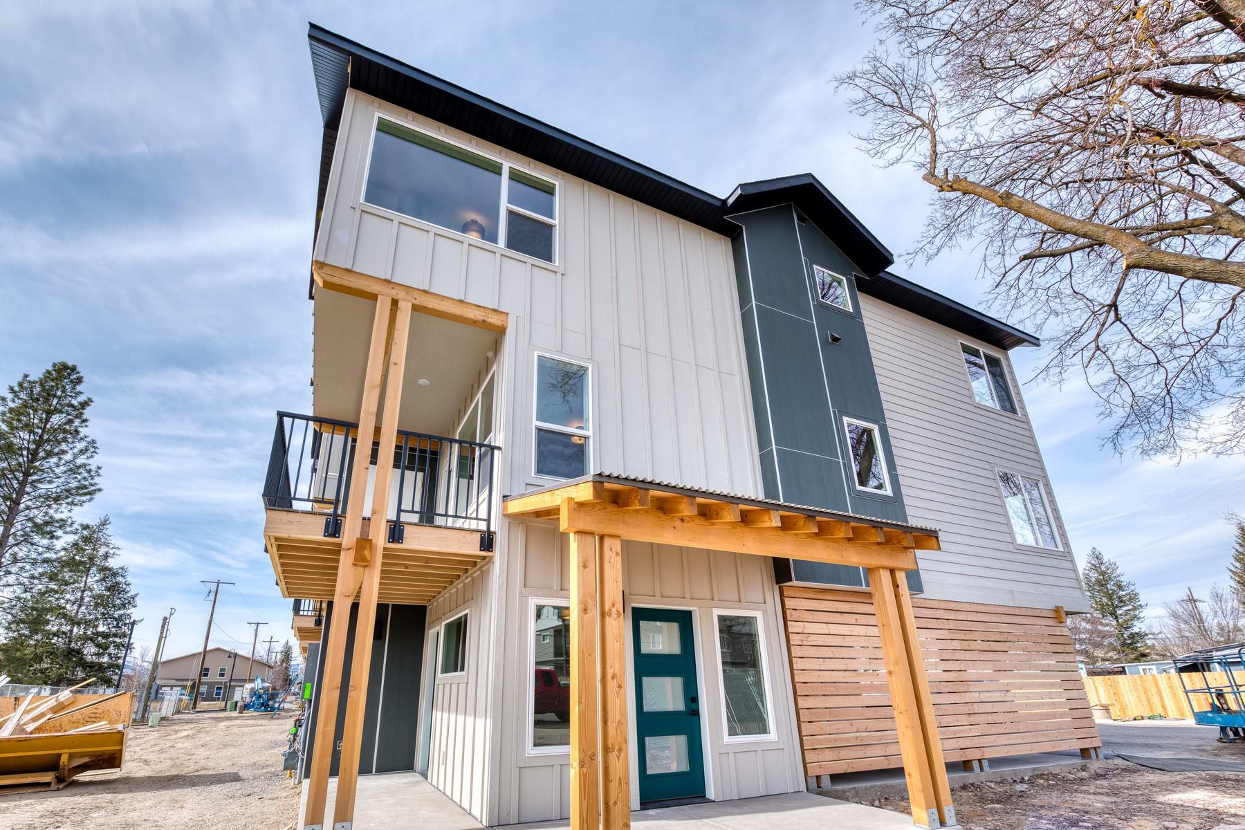 townhouses por un Venta en The Row at Milwaukee Trail 201 C South Catlin Street Missoula, Montana 59801 Estados Unidos