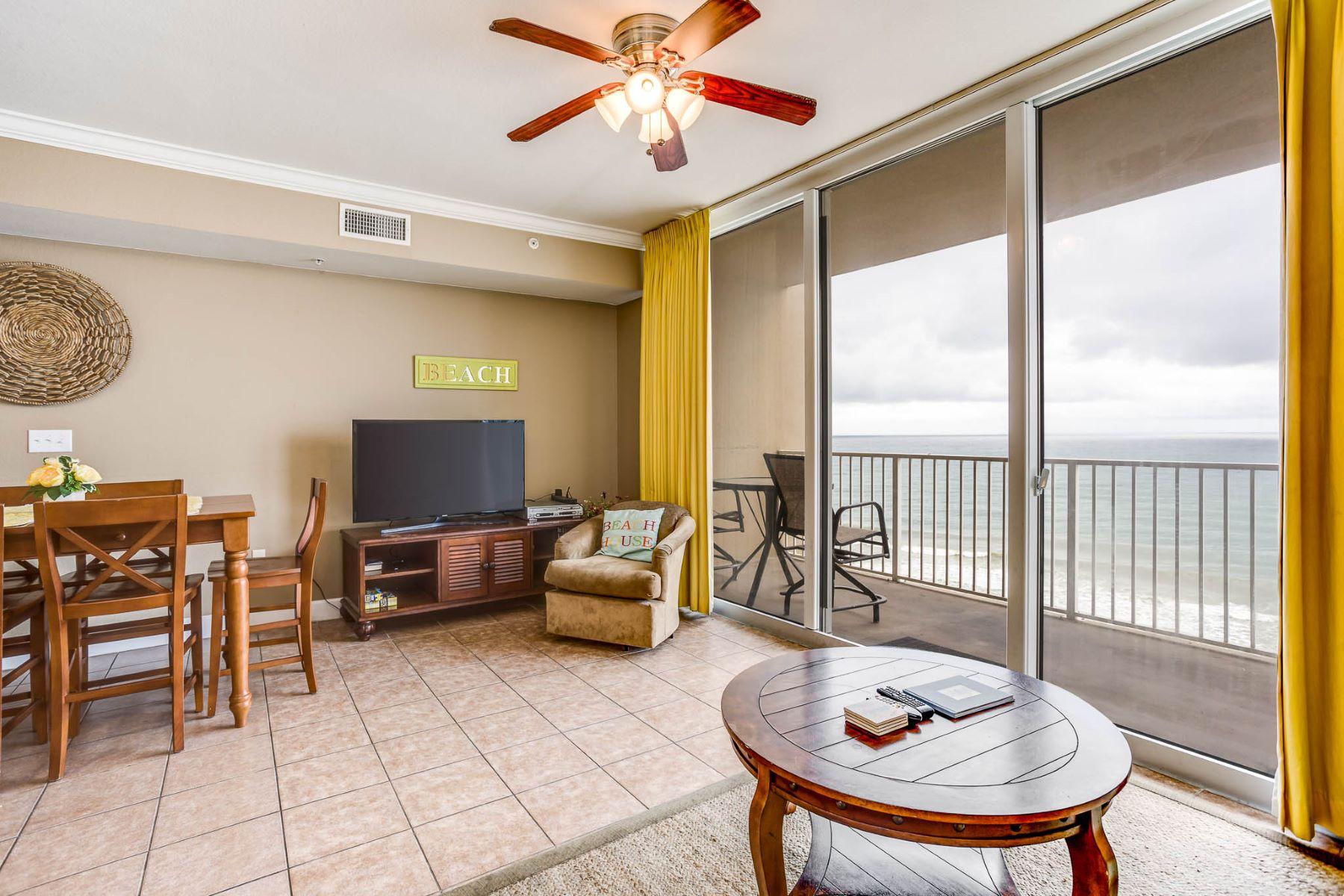 Condominio per Vendita alle ore SPACIOUS GULF FRONT CONDO WITH AN OPEN FLOOR PLAN 16819 Front Beach Road 711 Panama City Beach, Florida, 32413 Stati Uniti