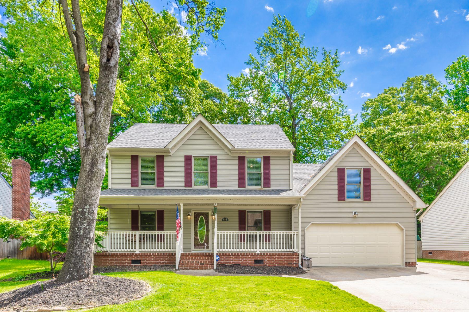 Single Family Homes por un Venta en 808 Beckley Lane, Chesapeake Chesapeake, Virginia 23322 Estados Unidos