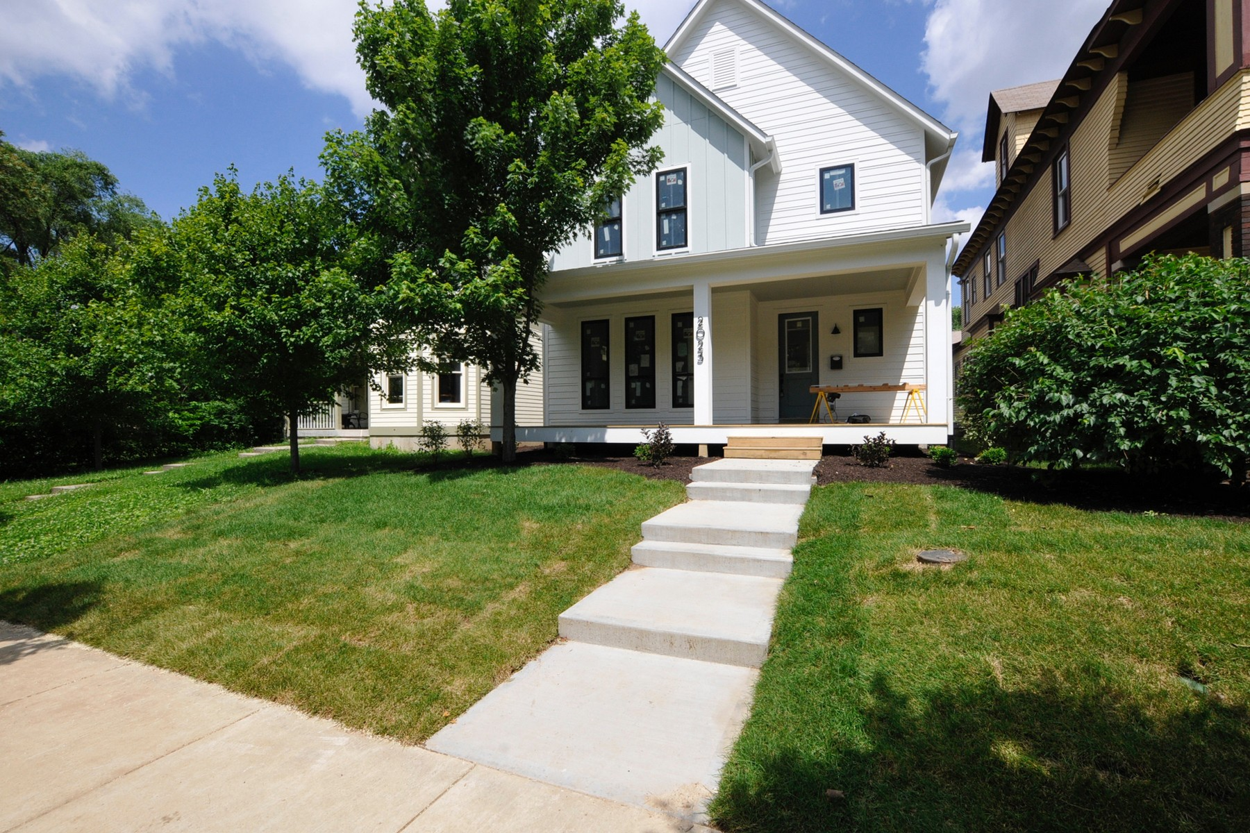 single family homes for Active at Contemporary Styled Home 2023 N Alabama Street Indianapolis, Indiana 46202 United States