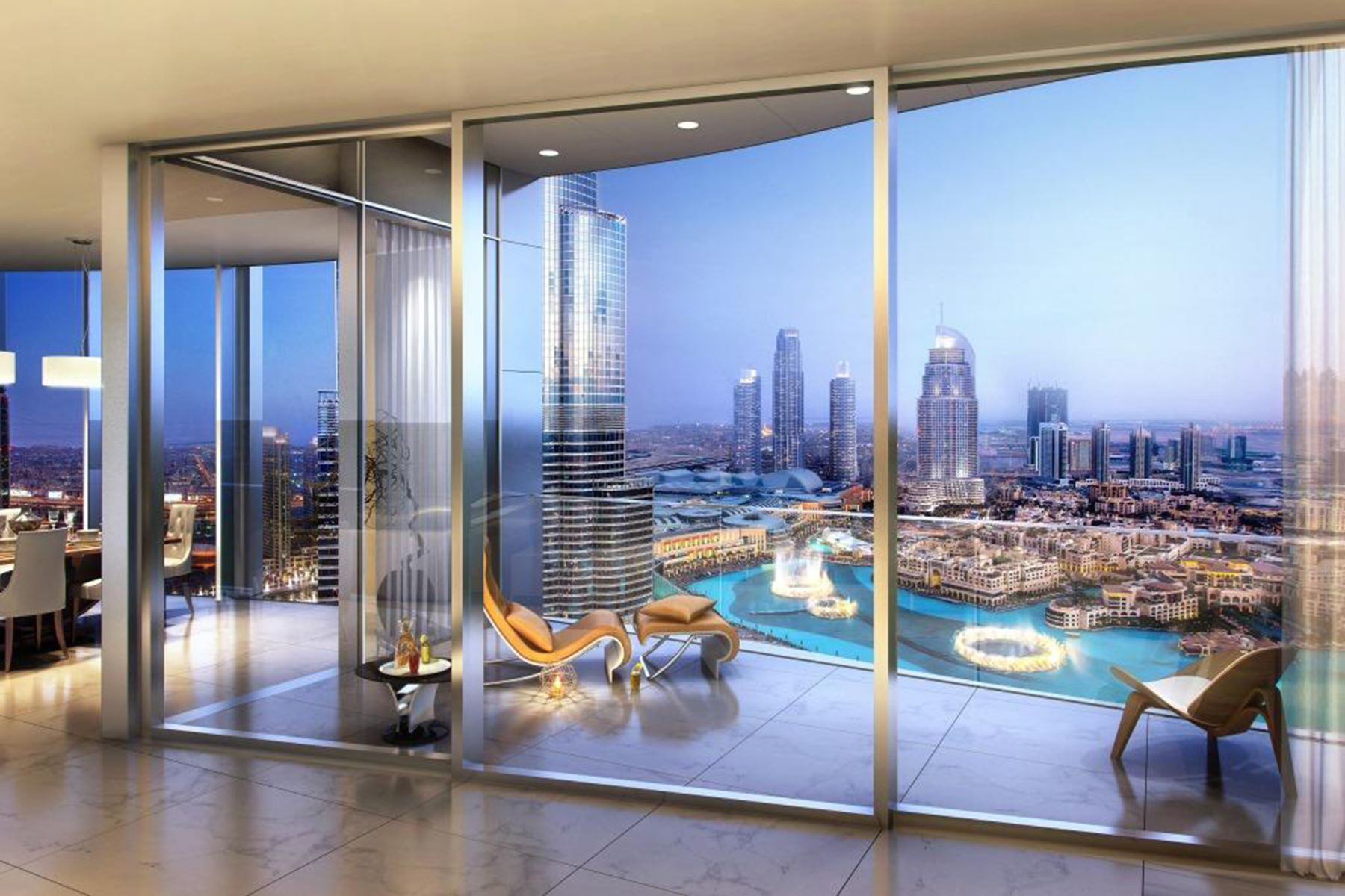 Apartment for Sale at 4BR Cosmopolitan Living With Fountain Views Downtown Dubai IL Primo, Dubai, 00000 United Arab Emirates