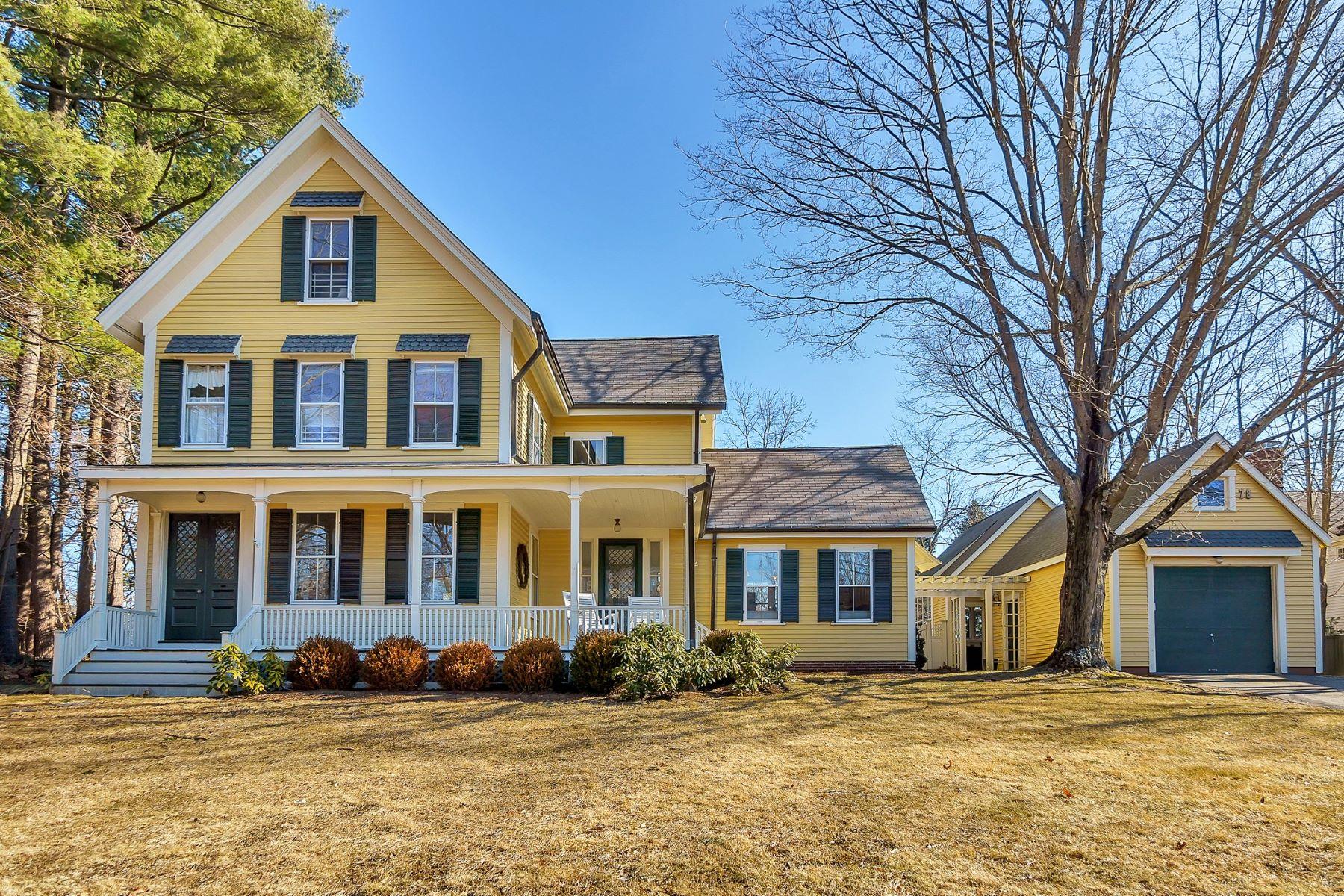 Single Family Homes 为 销售 在 454 Monument Street 康科德, 马萨诸塞州 01742 美国