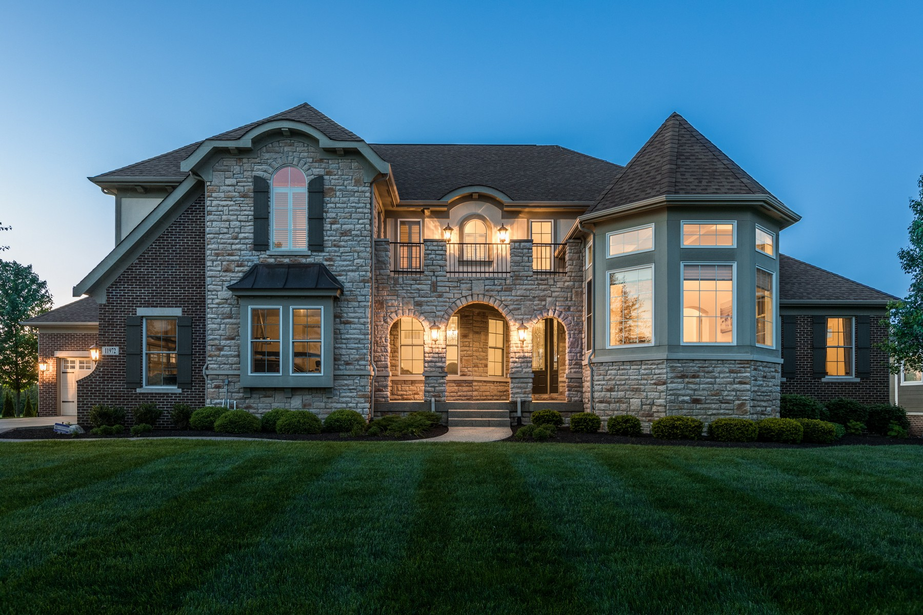 single family homes for Active at Iconic Hawthorn Golf Course Setting 11972 Hawthorn Ridge Fishers, Indiana 46037 United States