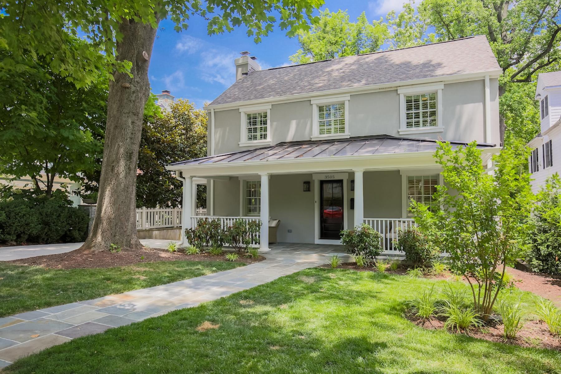 Einfamilienhaus für Verkauf beim 3505 Raymond Street, Chevy Chase Chevy Chase, Maryland, 20815 Vereinigte Staaten
