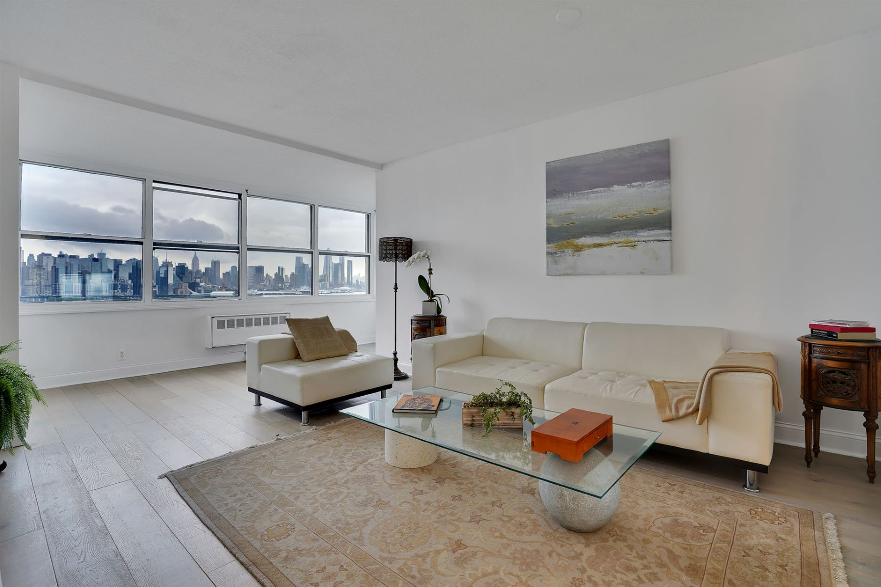 Condominiums for Sale at Enjoy direct SOUTHEAST views of the Hudson River & NYC 7002 BLVD East #15E Guttenberg, New Jersey 07093 United States