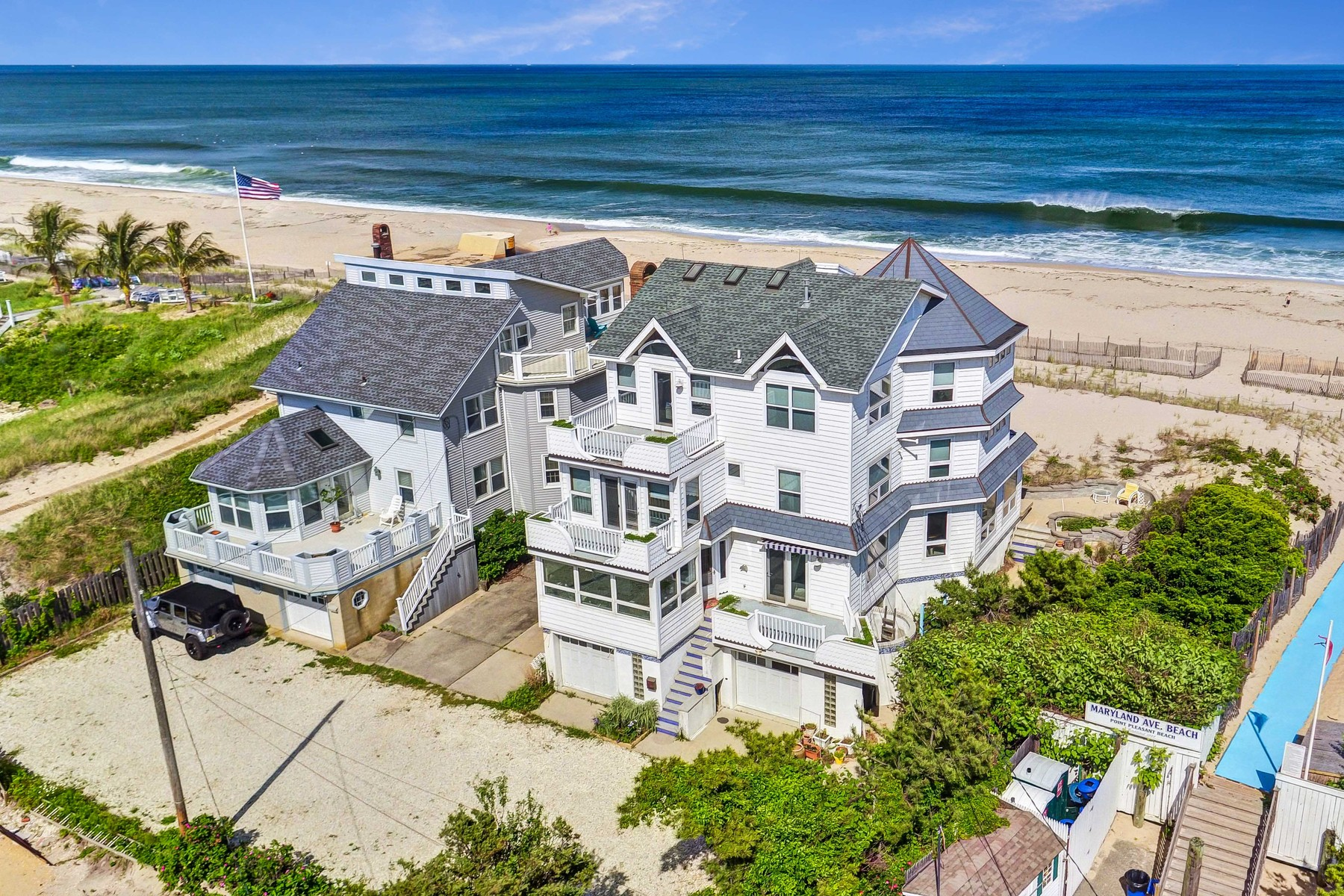 獨棟家庭住宅 為 出售 在 Oceanfront Opportunity 1 Maryland Ave Point Pleasant Beach, 新澤西州 08742 美國