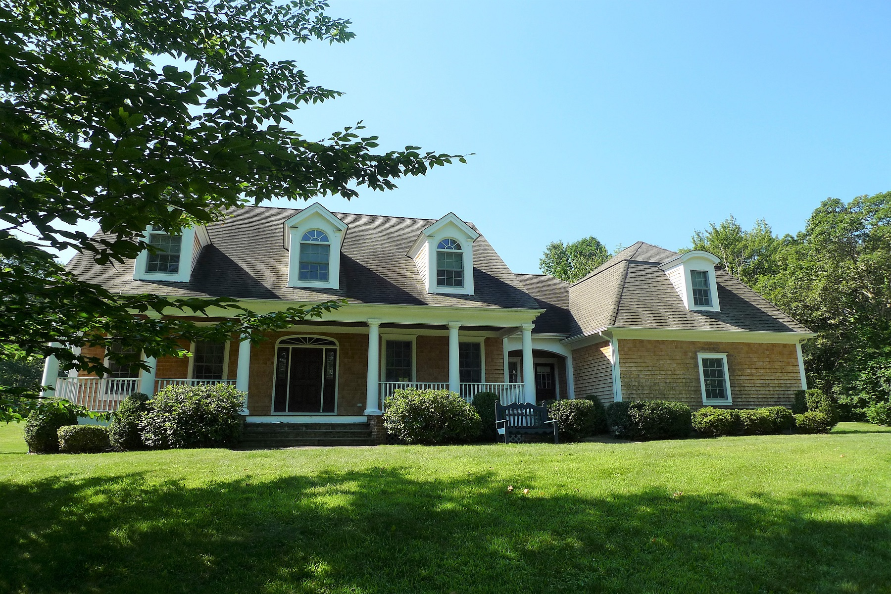 Single Family Home for Rent at Contemporary Cape in the Country 458 Route 343 Millbrook, New York 12545 United States