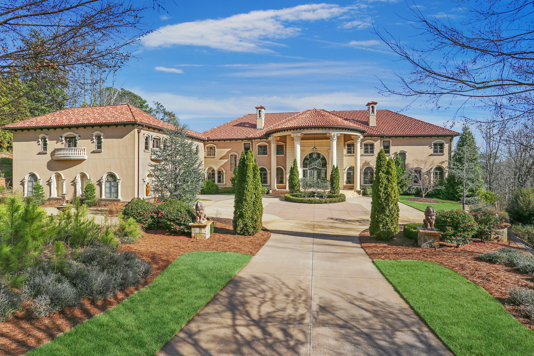 Single Family Homes for Active at Expansive Mediterranean Estate 5115 Northside Drive Atlanta, Georgia 30327 United States