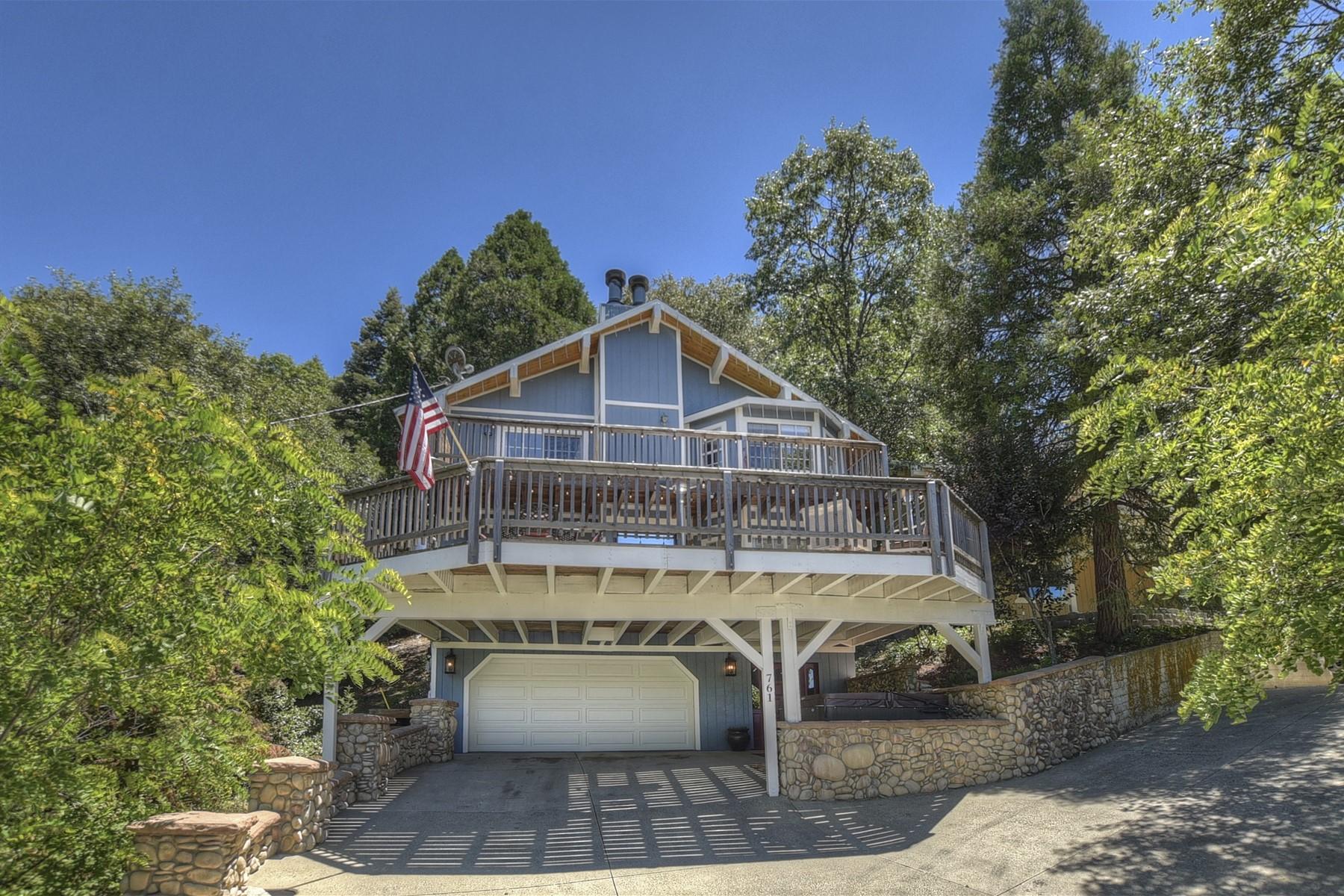Single Family Homes for Sale at 761 Berne Drive, Crestline, CA 92325 761 Berne Drive Crestline, California 92325 United States