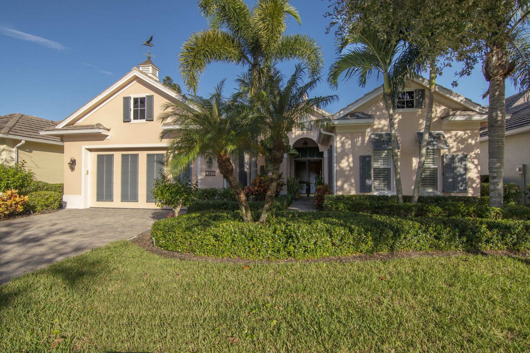 Single Family Home for Sale at EXCEEDING ALL EXPECTATIONS, AND WALK TO BEACH 9130 Spring Time Drive Vero Beach, Florida 32963 United States