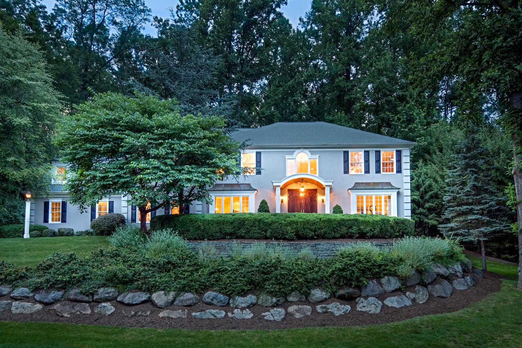 Maison unifamiliale pour l Vente à Gorgeous Colonial 5 Byram Court Mendham Township, New Jersey, 07945 États-Unis
