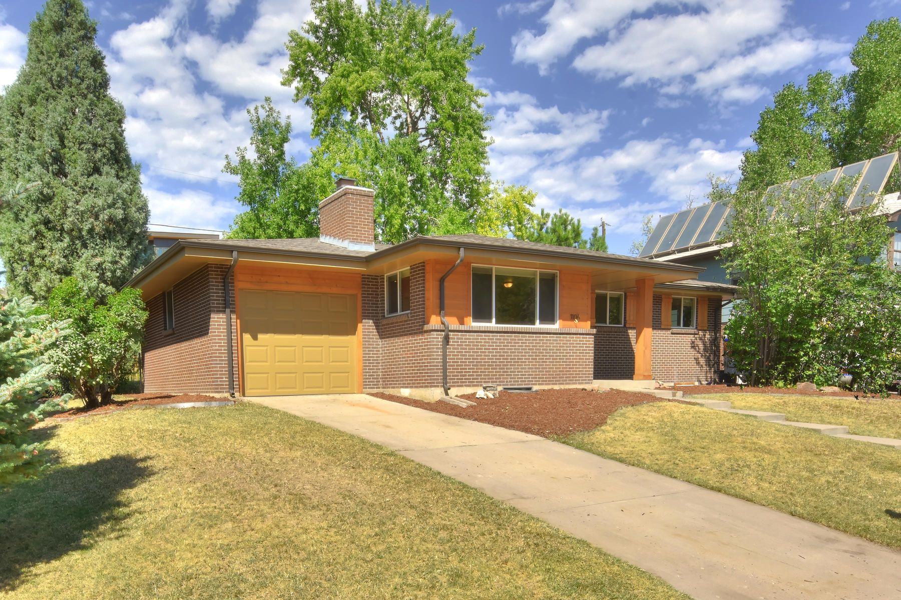 Single Family Homes for Sale at Light And Bright Updated Mid-Century Ranch 1106 N Jackson St Golden, Colorado 80403 United States