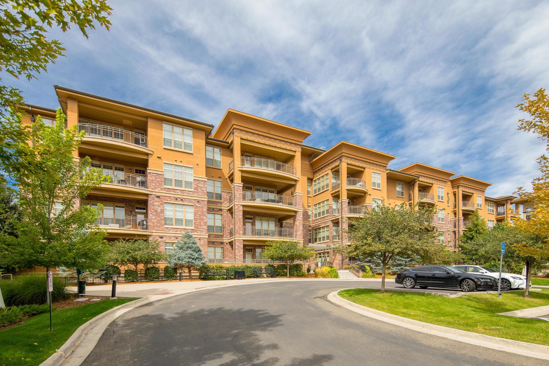 Property for Active at Fabulous Penthouse 7865 Vallagio Lane Unit 412 Englewood, Colorado 80112 United States