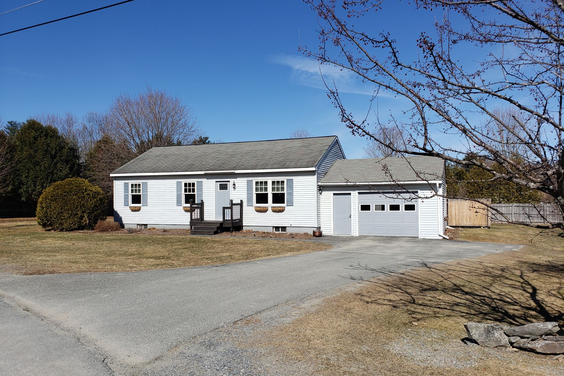 Single Family Homes for Sale at Three Bedroom Ranch in Bradford 14 Plateau Acres W Bradford, Vermont 05033 United States