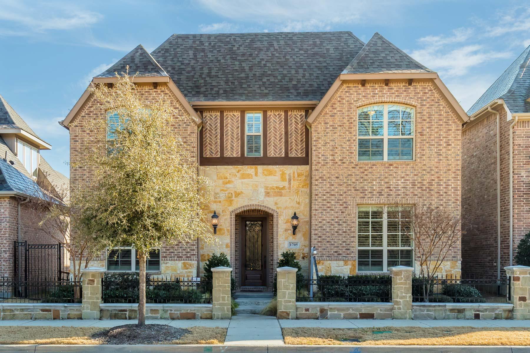 独户住宅 为 销售 在 Upscale, Executive Living in Southlake's Carillon 1705 Riviera Lane, Southlake, 得克萨斯州, 76092 美国