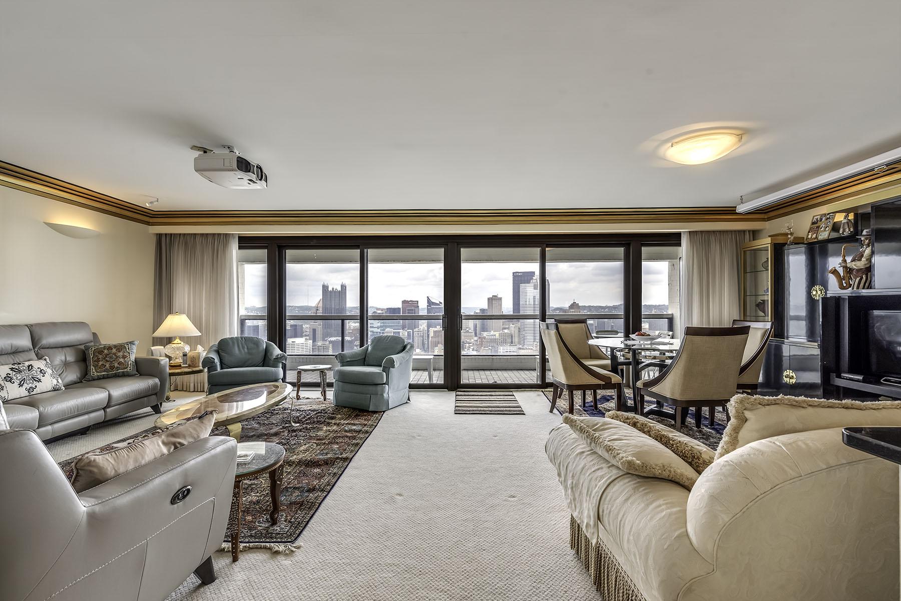 Condominiums for Sale at Luxury Grandview Condominium 111 Grandview Avenue Unit 703, Pittsburgh, Pennsylvania 15211 United States