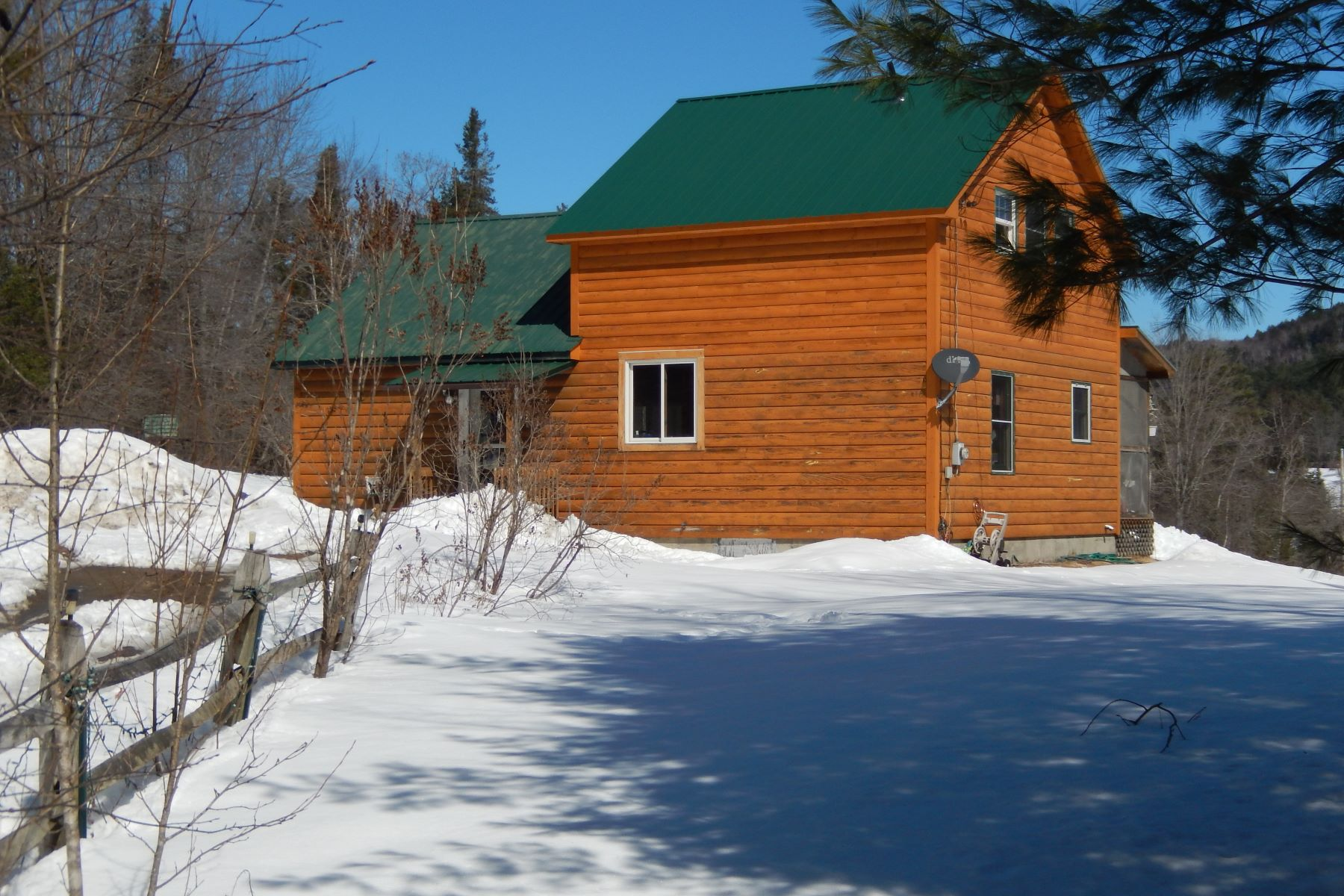 single family homes for Sale at Three Bedroom Cape in Newbury 6065 Scotch Hollow Rd Newbury, Vermont 05051 United States