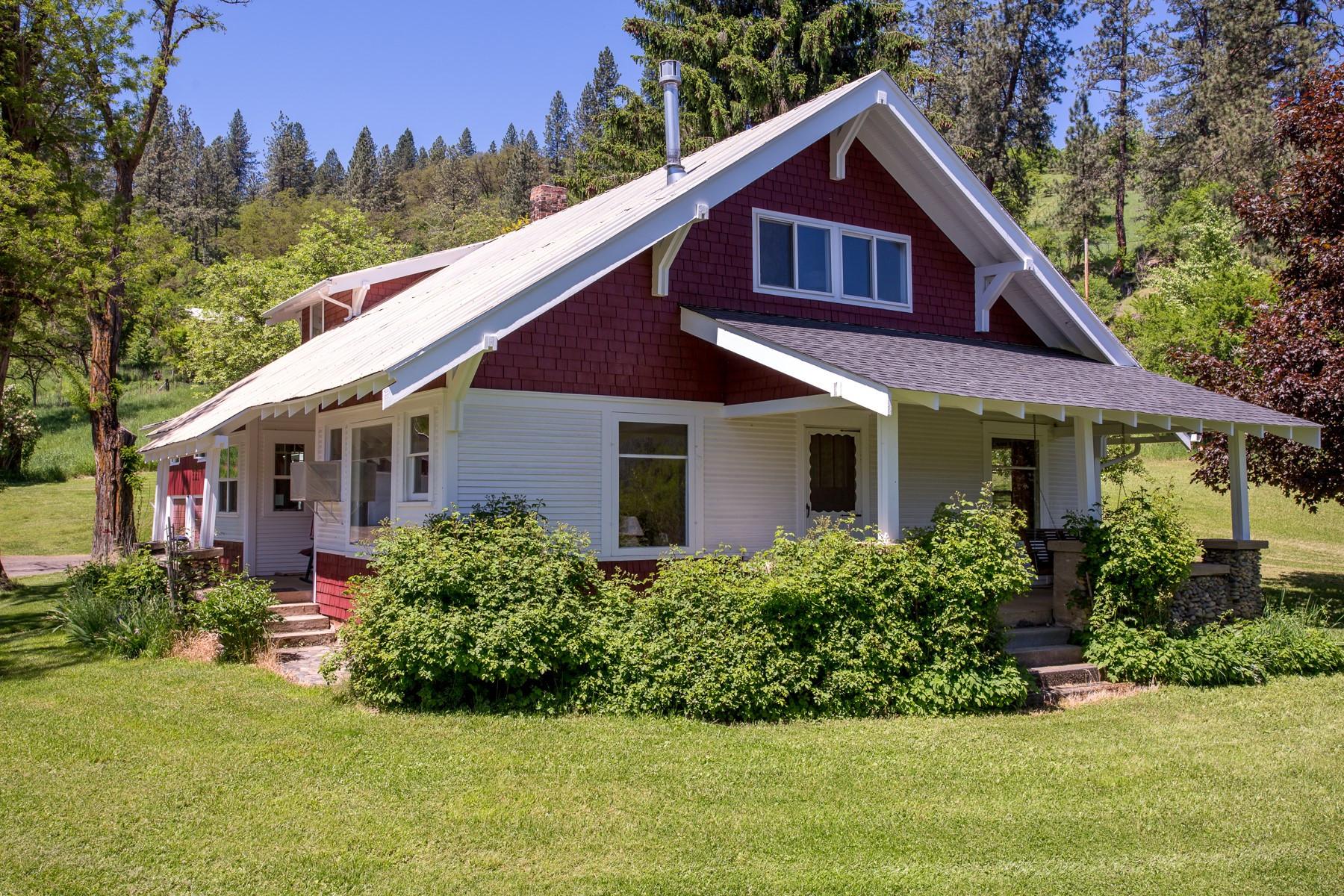 Casa para uma família para Venda às CLASSIC CRAFTSMAN RETREAT WITH A VIEW 1117 Ridgewood Drive Kamiah, Idaho, 83536 Estados Unidos
