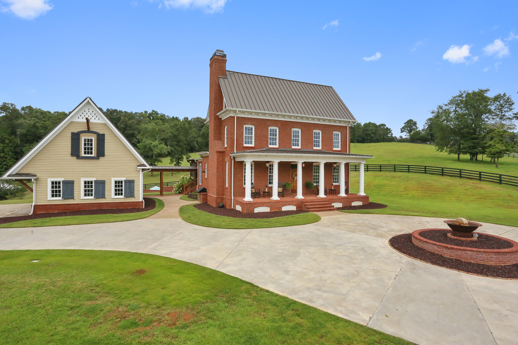 Farm / Ranch / Plantation for Active at Timeless Home On Private Acreage 2229 Long Road Ball Ground, Georgia 30107 United States