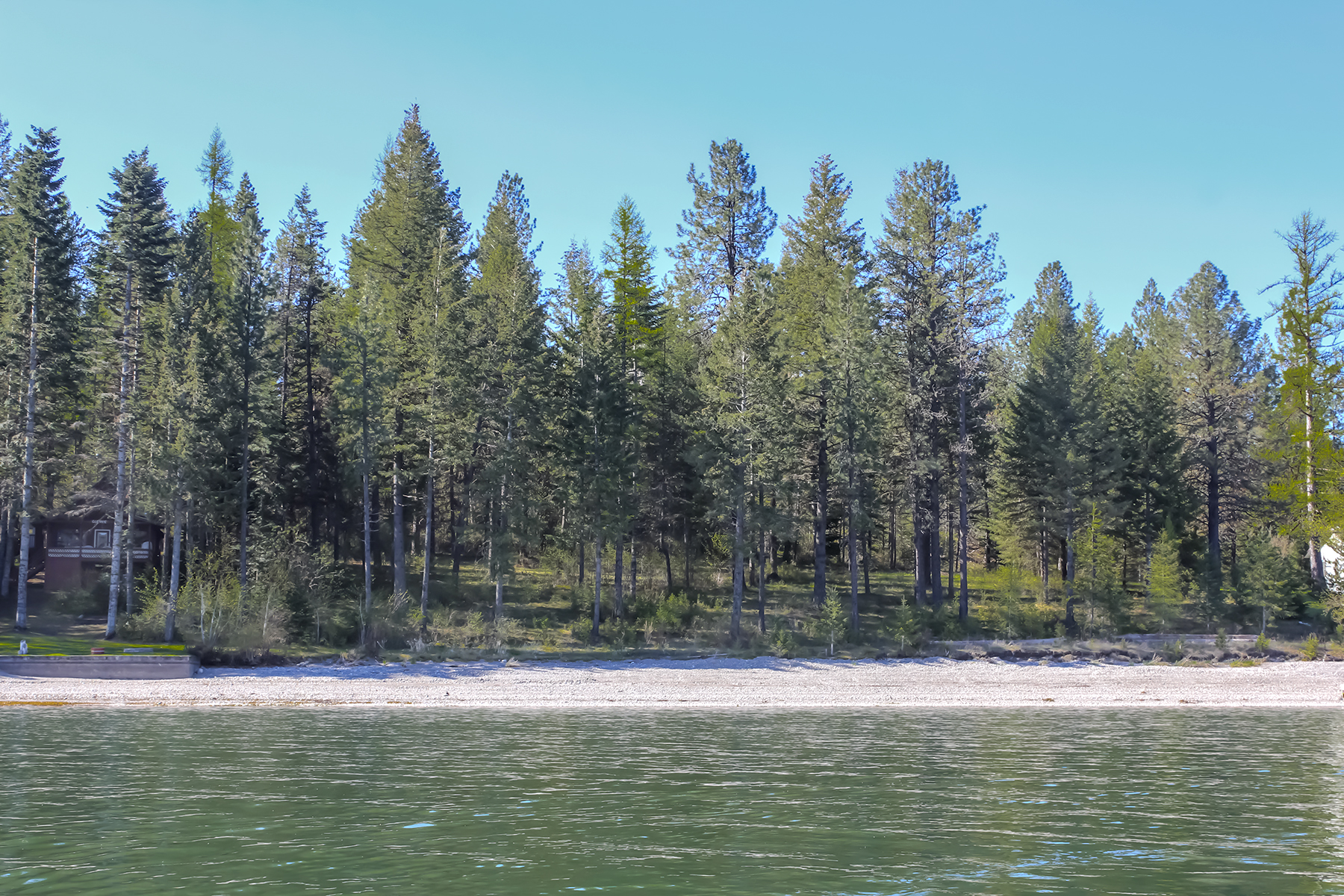 Terreno per Vendita alle ore 100' waterfront feet of pure Pend Oreille River! Lot 2 Erics Haven Priest River, Idaho, 83856 Stati Uniti