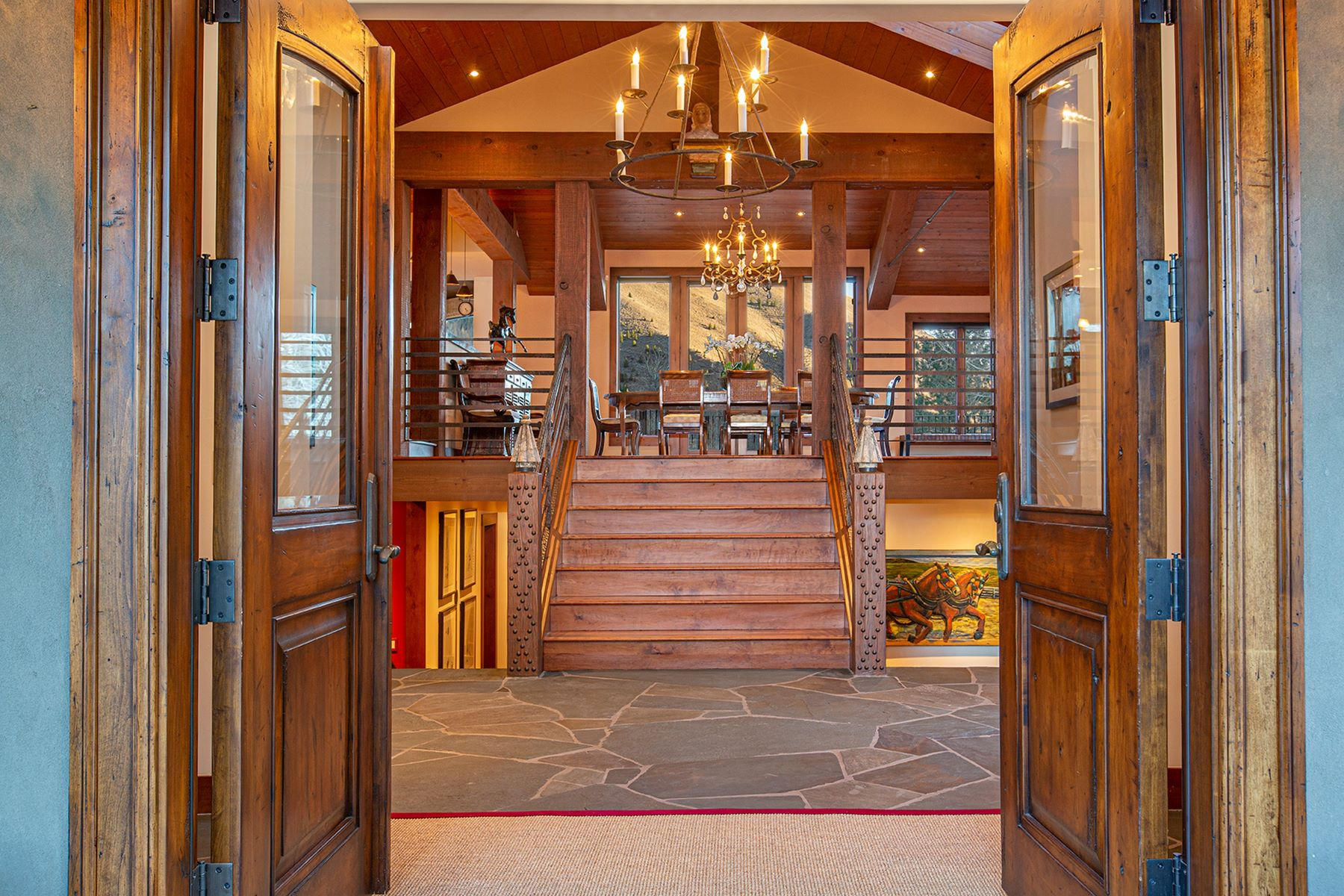 Single Family Homes for Sale at Gimlet's Finest 309 Madison Avenue Ketchum, Idaho 83340 United States