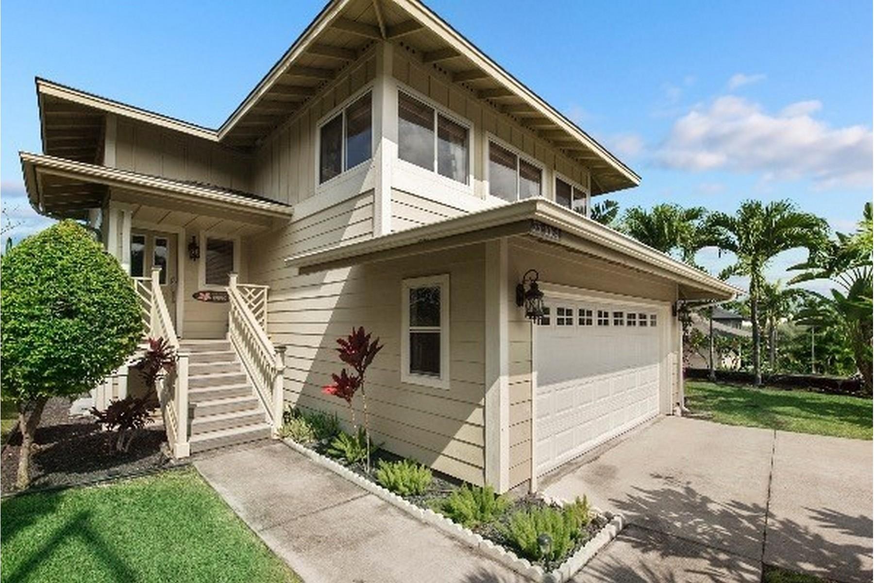 独户住宅 为 销售 在 Pualani Estates 75-6164 Hoomama St 纳市, 夏威夷, 96740 美国