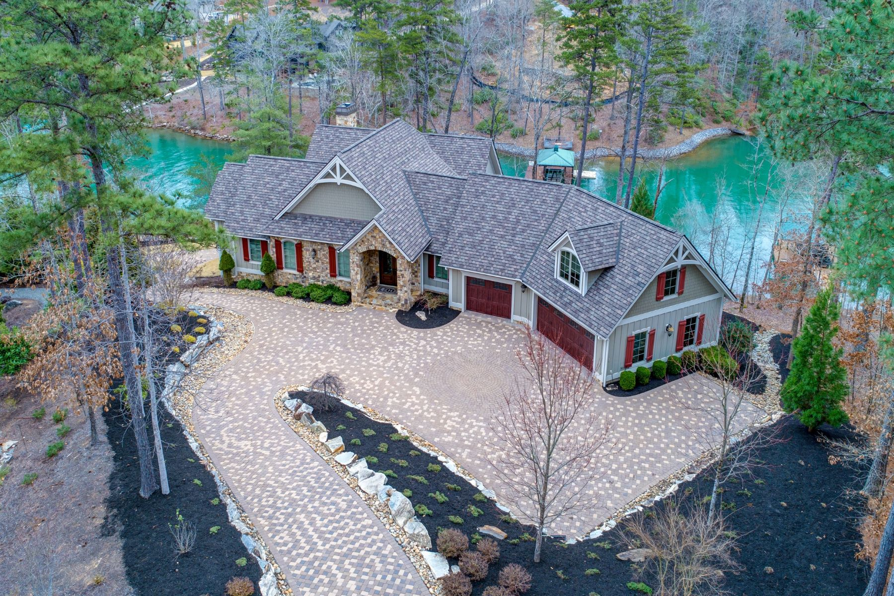 Single Family Homes for Active at Mesmerizing Views 115 Mossy Way Six Mile, South Carolina 29682 United States