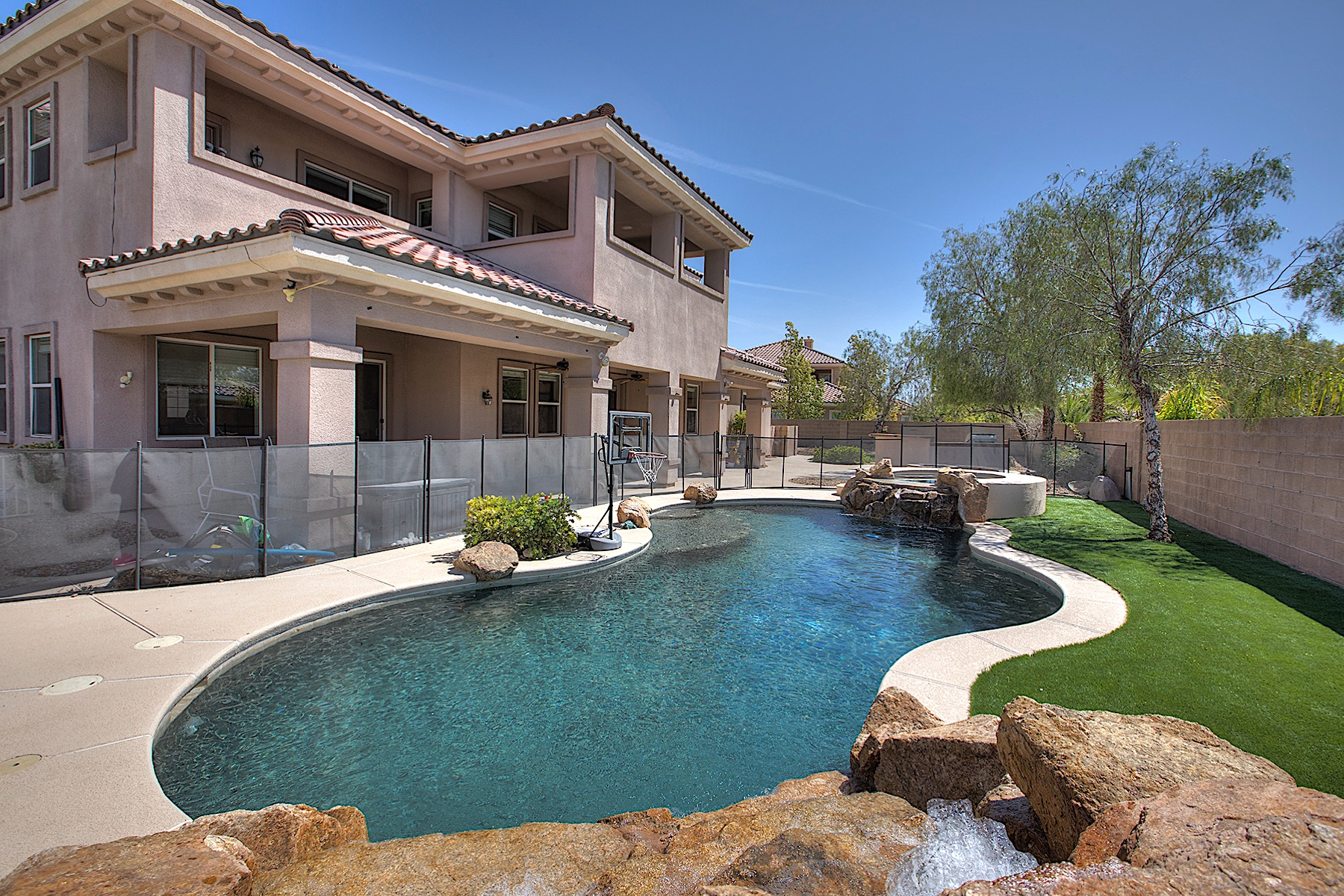 Single Family Home for Sale at 8795 Lufield Ridge Court Las Vegas, Nevada, 89149 United States
