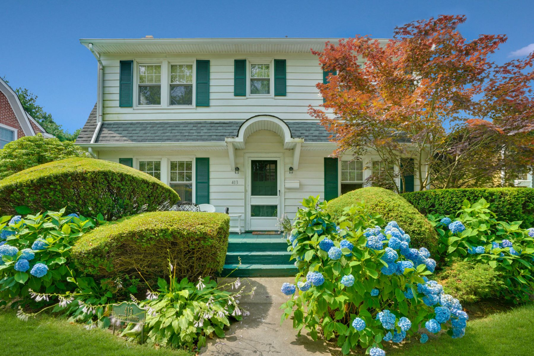 Single Family Homes for Sale at Charming Dutch Colonial 413 Essex Avenue Spring Lake, New Jersey 07762 United States