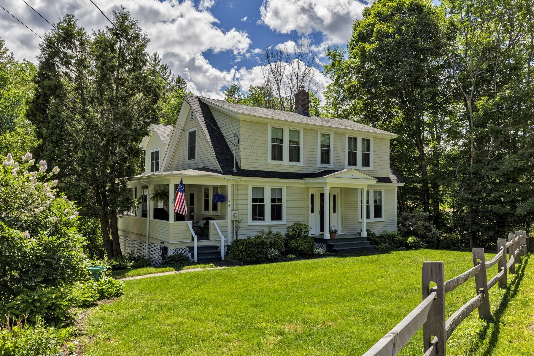 Single Family Homes for Active at Completely Renovated Home Close to Town 75 Parkside Rd New London, New Hampshire 03257 United States