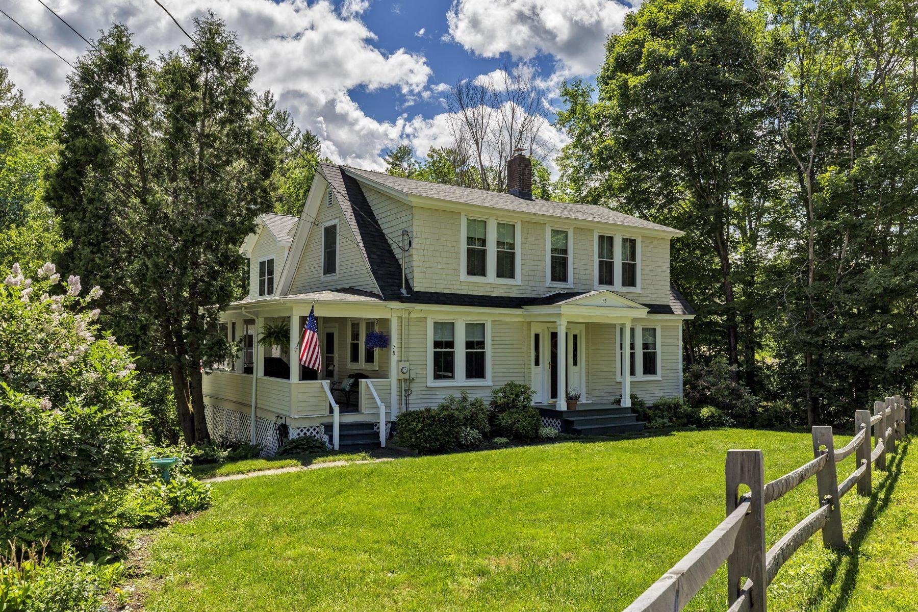 Single Family Homes для того Продажа на Completely Renovated Home Close to Town 75 Parkside Rd, New London, Нью-Гэмпшир 03257 Соединенные Штаты
